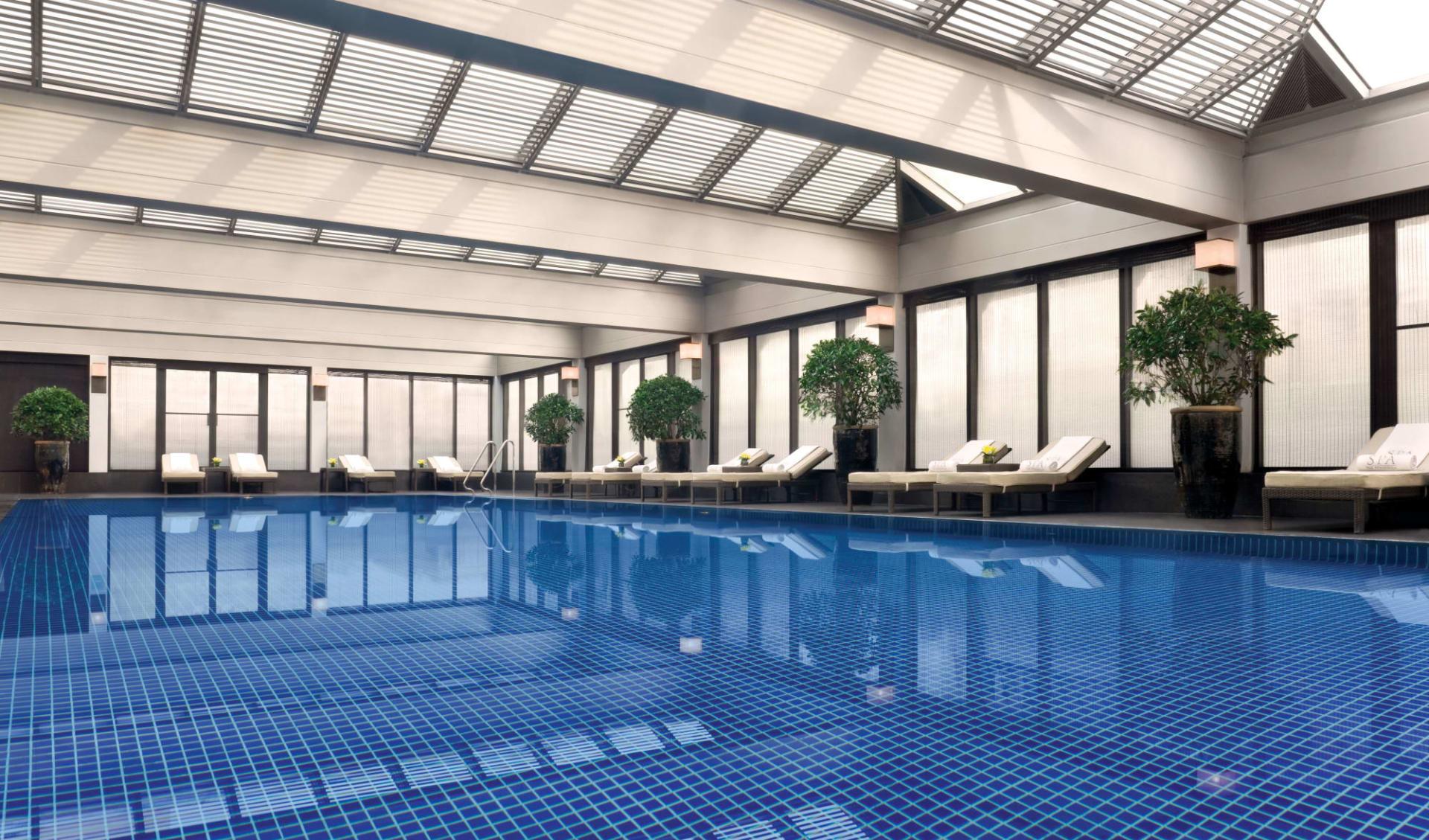 The Peninsula in Peking: Swimming Pool