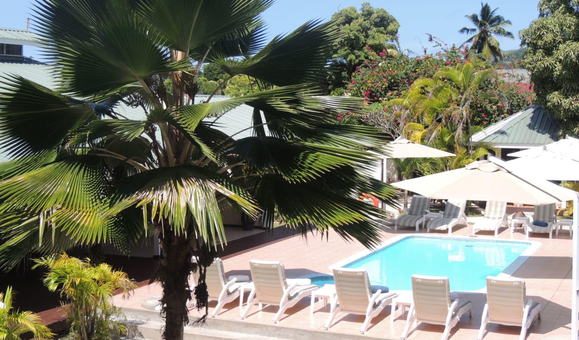 La Roussette in Mahé: Swimming Pool