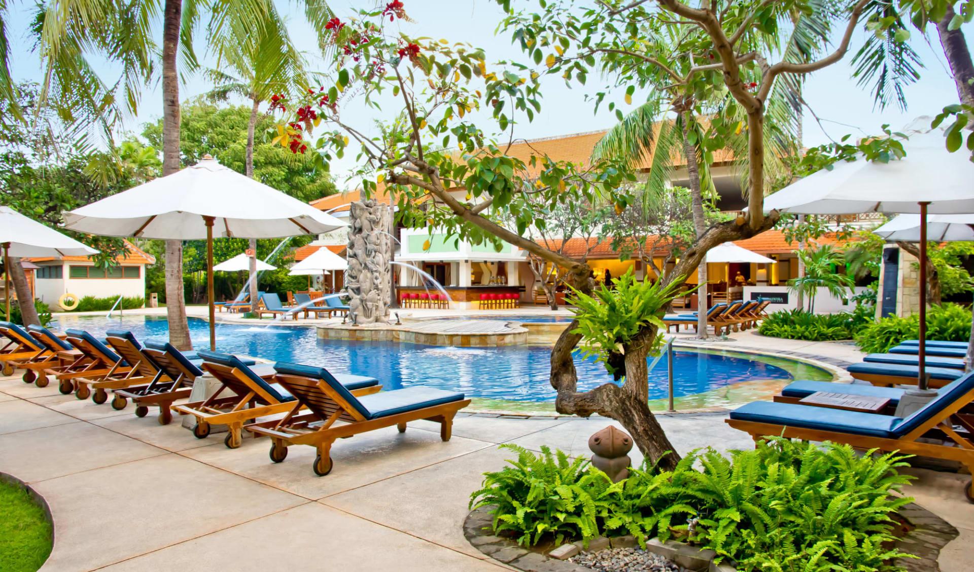 Bali Rani in Südbali: Swimming Pool Area