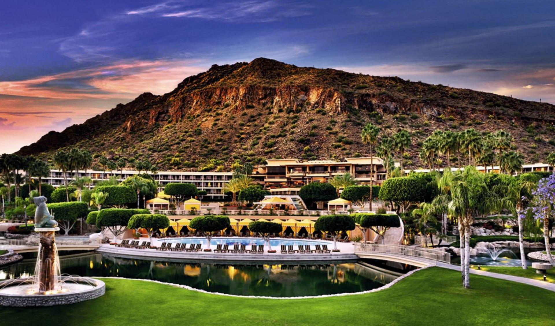 The Phoenician in Scottsdale: pool the phoenician scottsdale gartenanlage