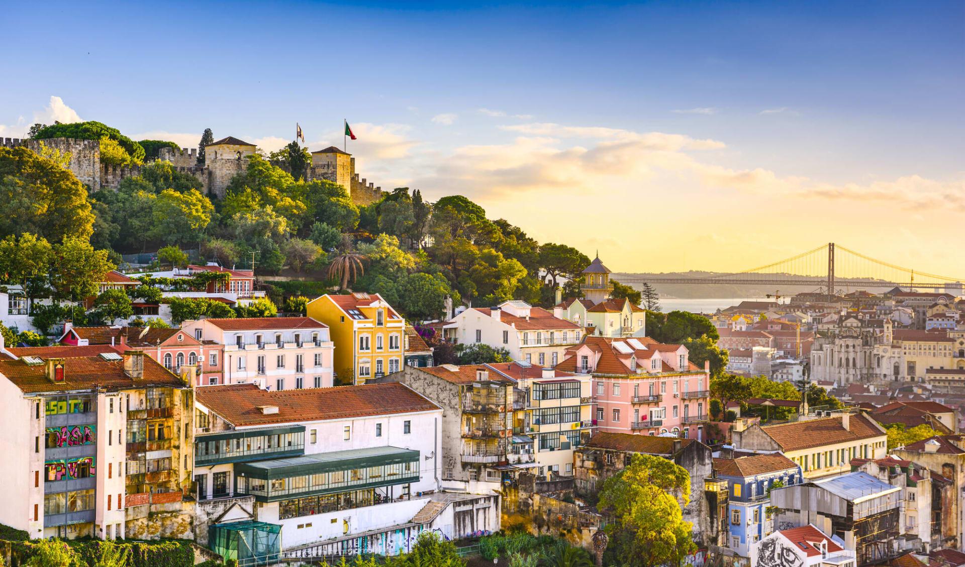 Landwirtschaftliche Leserreise der BauernZeitung nach Portugal ab Lissabon: Portugal - Lissabon - Aussblick über Stadt