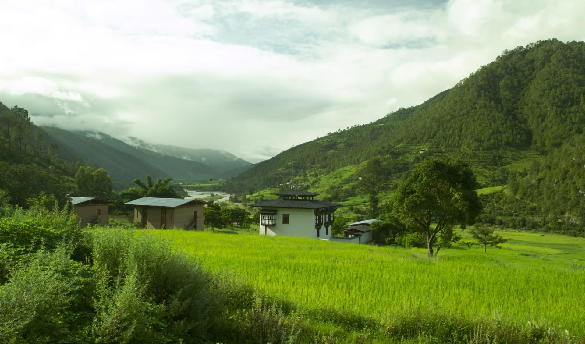 Amankora Bhutan Rundreise ab Paro: Punakha: Amankora