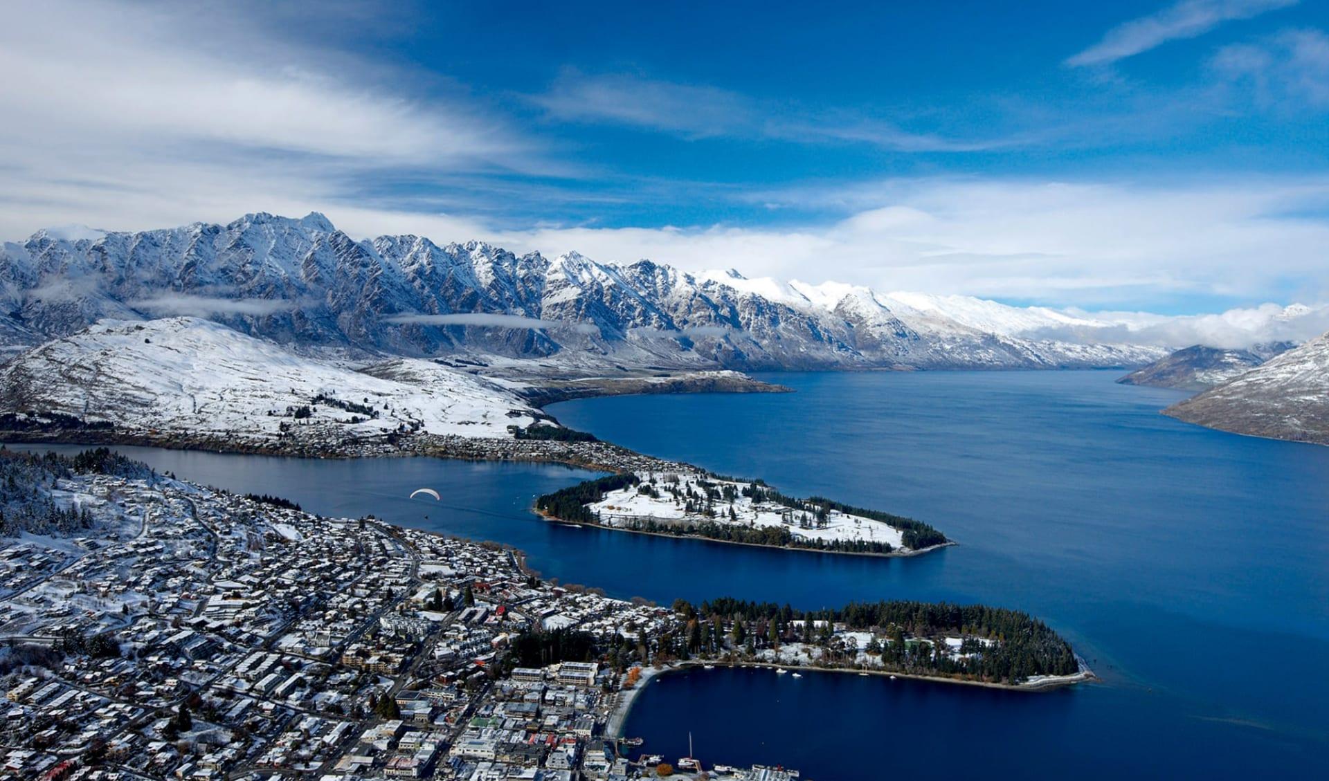 New Zealand South Island Explorer ab Christchurch: Queenstown - Übersicht - AAT_Queenstown_11963
