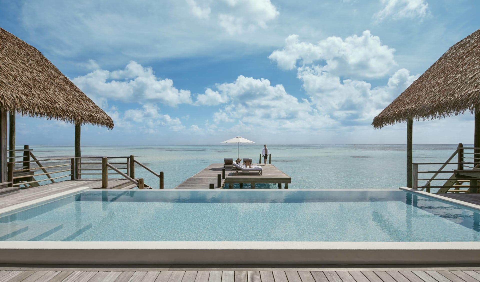 COMO Cocoa Island in Südmale-Atoll:   1 Bedroom Water Villa Pool