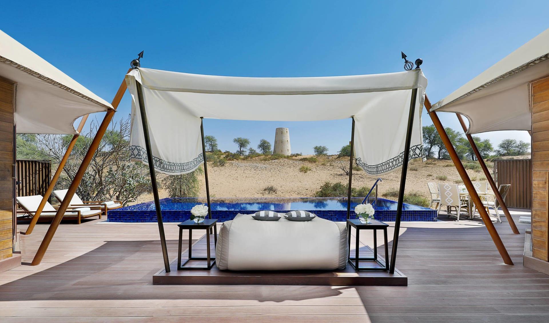 The Ritz-Carlton Ras Al Khaimah, Al Wadi Desert in Ras al Khaimah: Al Khaimah Tented Pool Villa