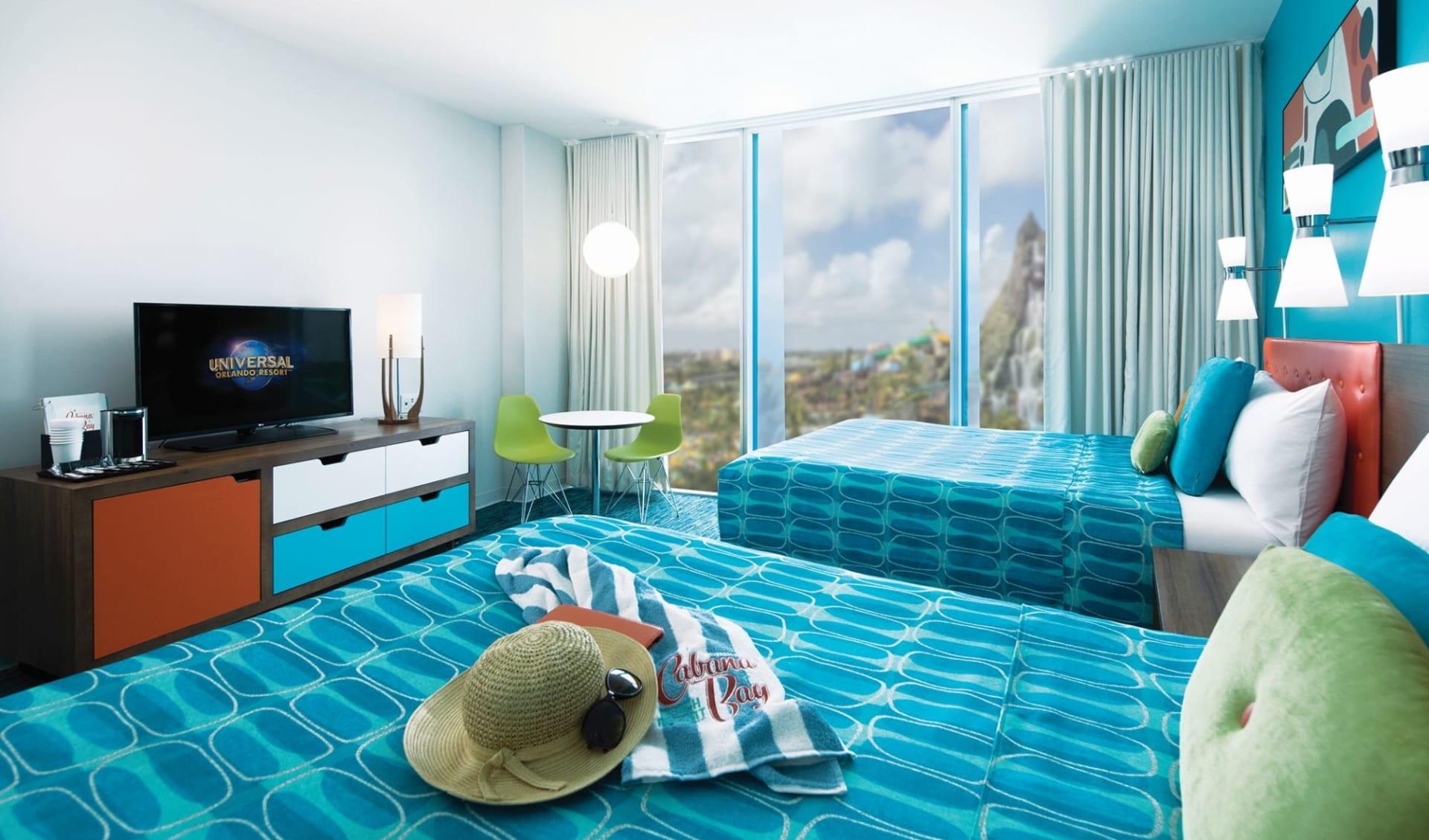 Universal's Cabana Bay Beach Resort in Orlando:  Cabana Bay Beach Resort - Standard