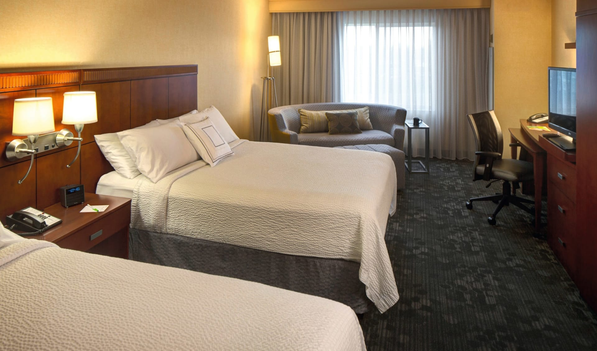 Courtyard Anchorage Airport:  Courtyard Anchorage Airport_Double Double Room