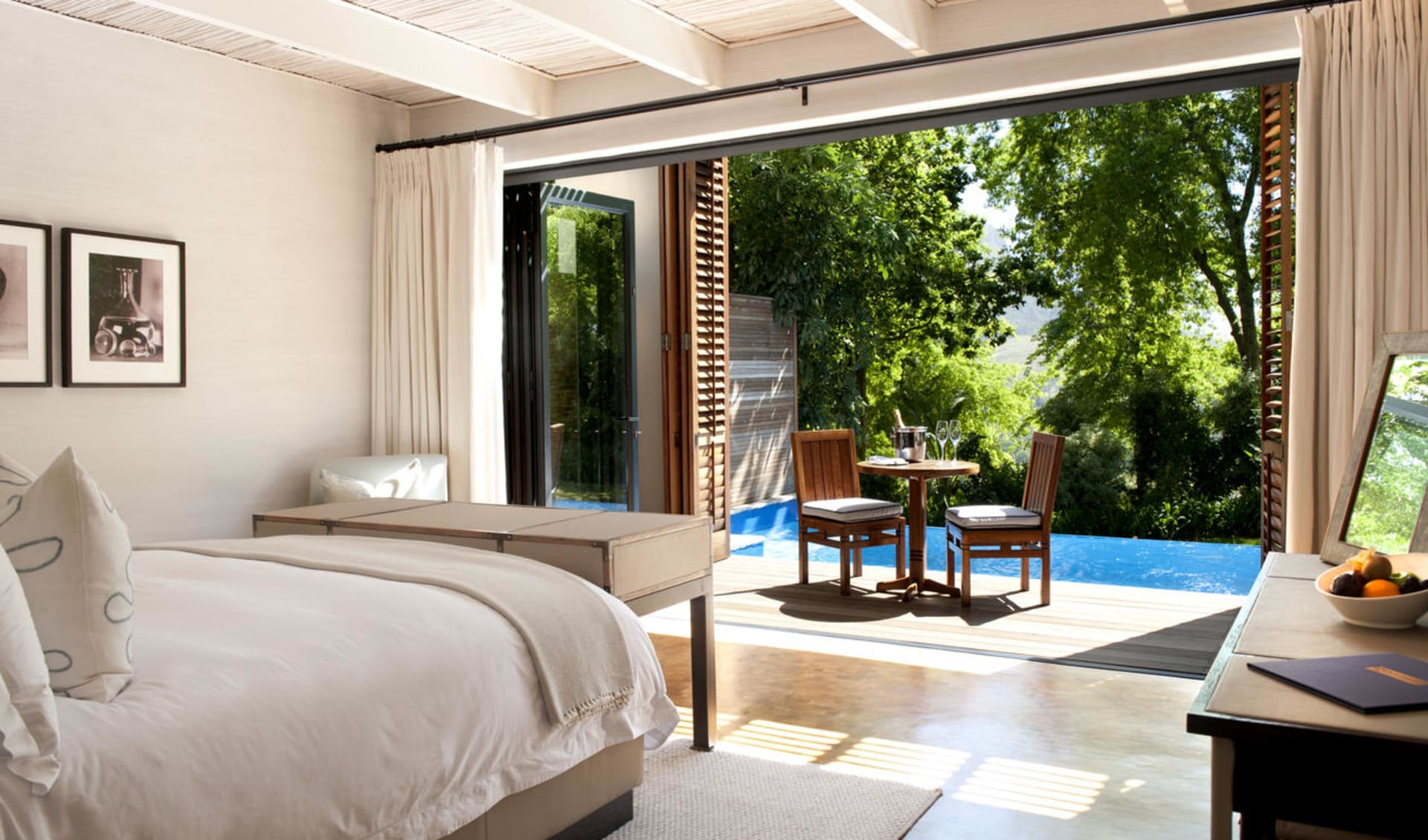 Delaire Graff Estate in Stellenbosch:  Delaire Graff Estate - Deluxe Hotelzimmer