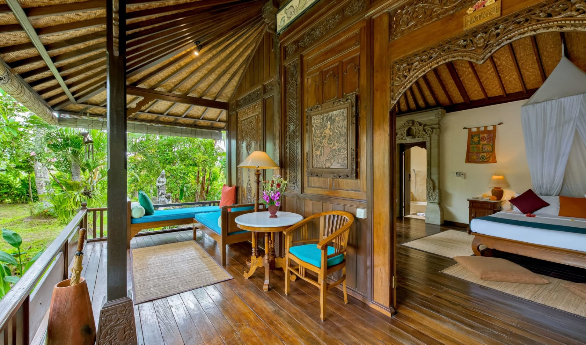 Alam Jiwa in Ubud: Deluxe Garden View | Jatayu