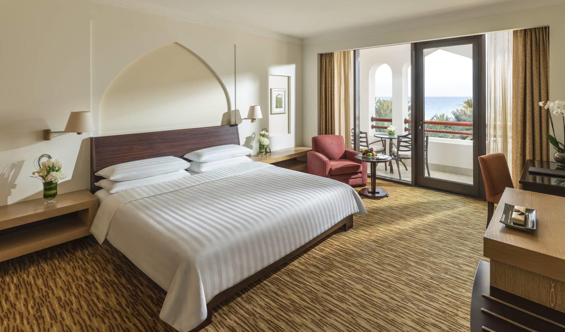 Al Bandar (Shangri-La's Barr al Jissah Resort & Spa) in Muscat:  Deluxe Sea View