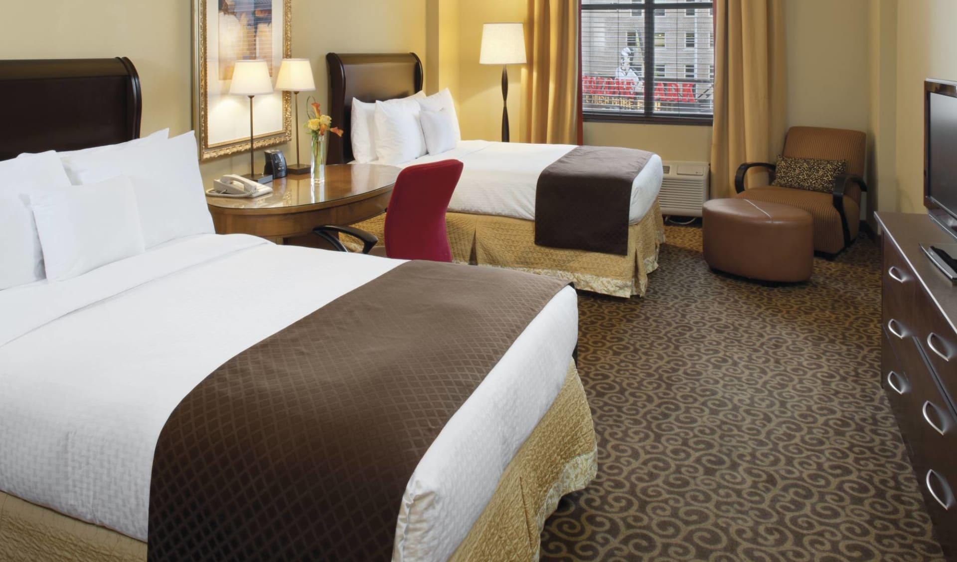 Doubletree Hotel Memphis Downtown: Doubletree Memphis Downtown - Doppelzimmer