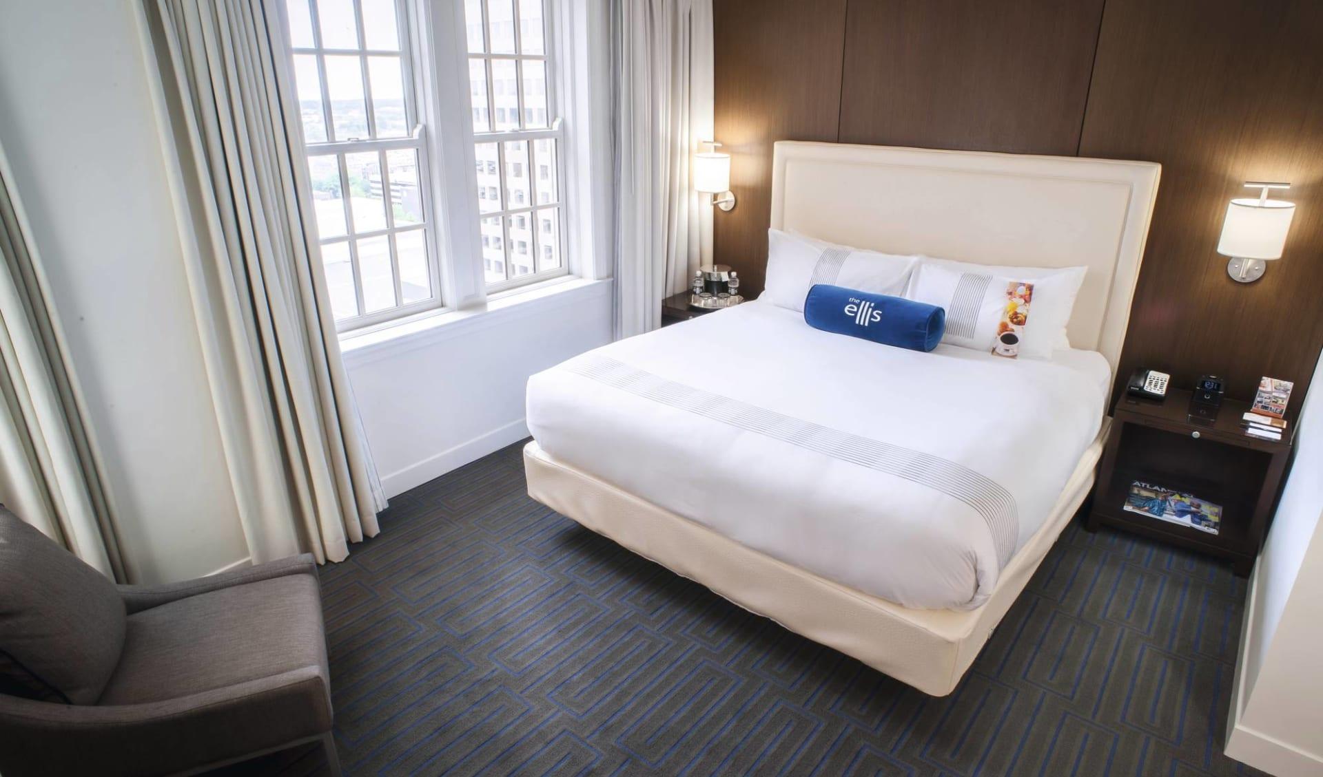 The Ellis Hotel in Atlanta:  Ellis Hotel ATL - Deluxe Room