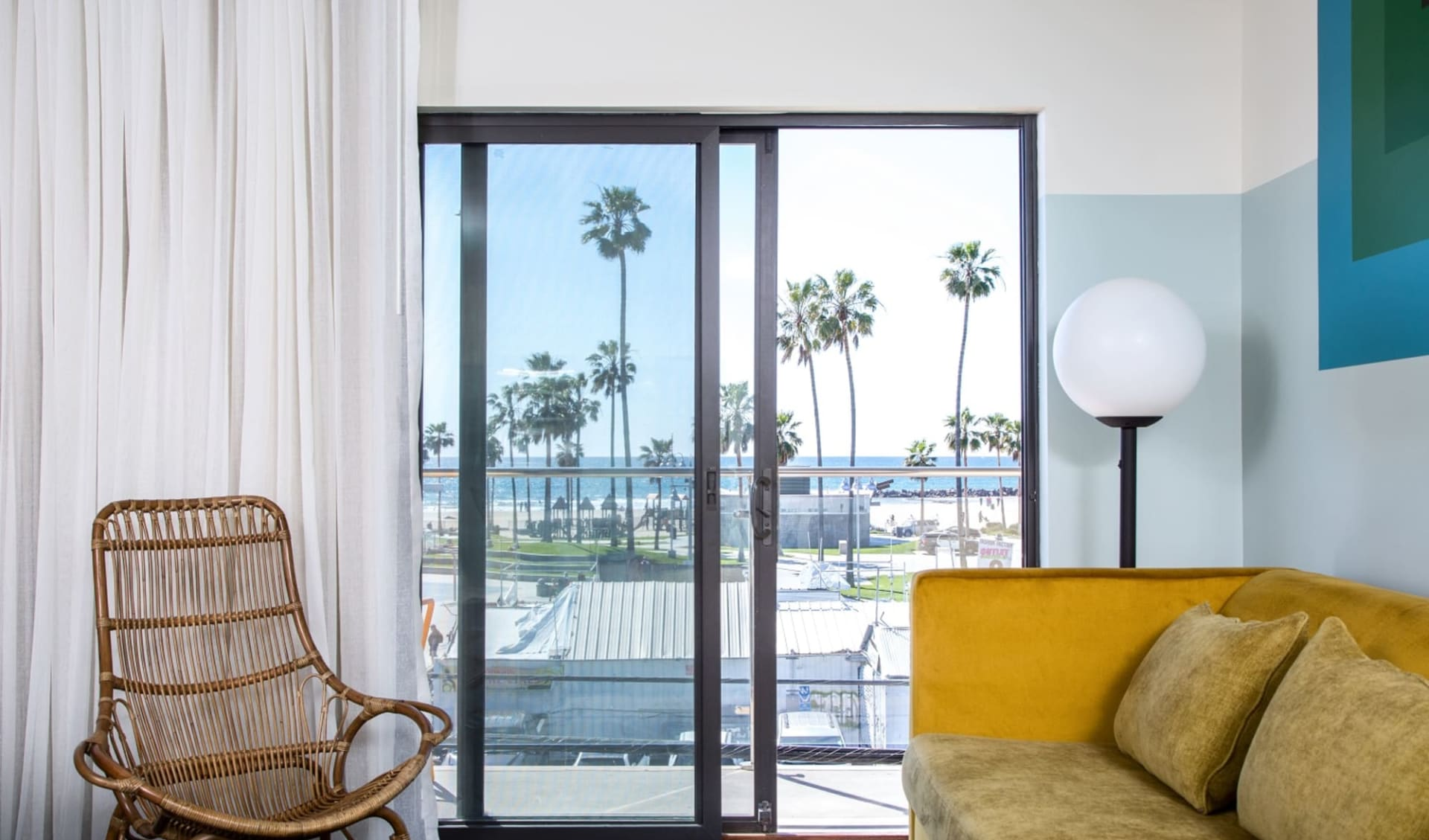 Hotel Erwin in Venice Beach:  Erwin - Ocean View