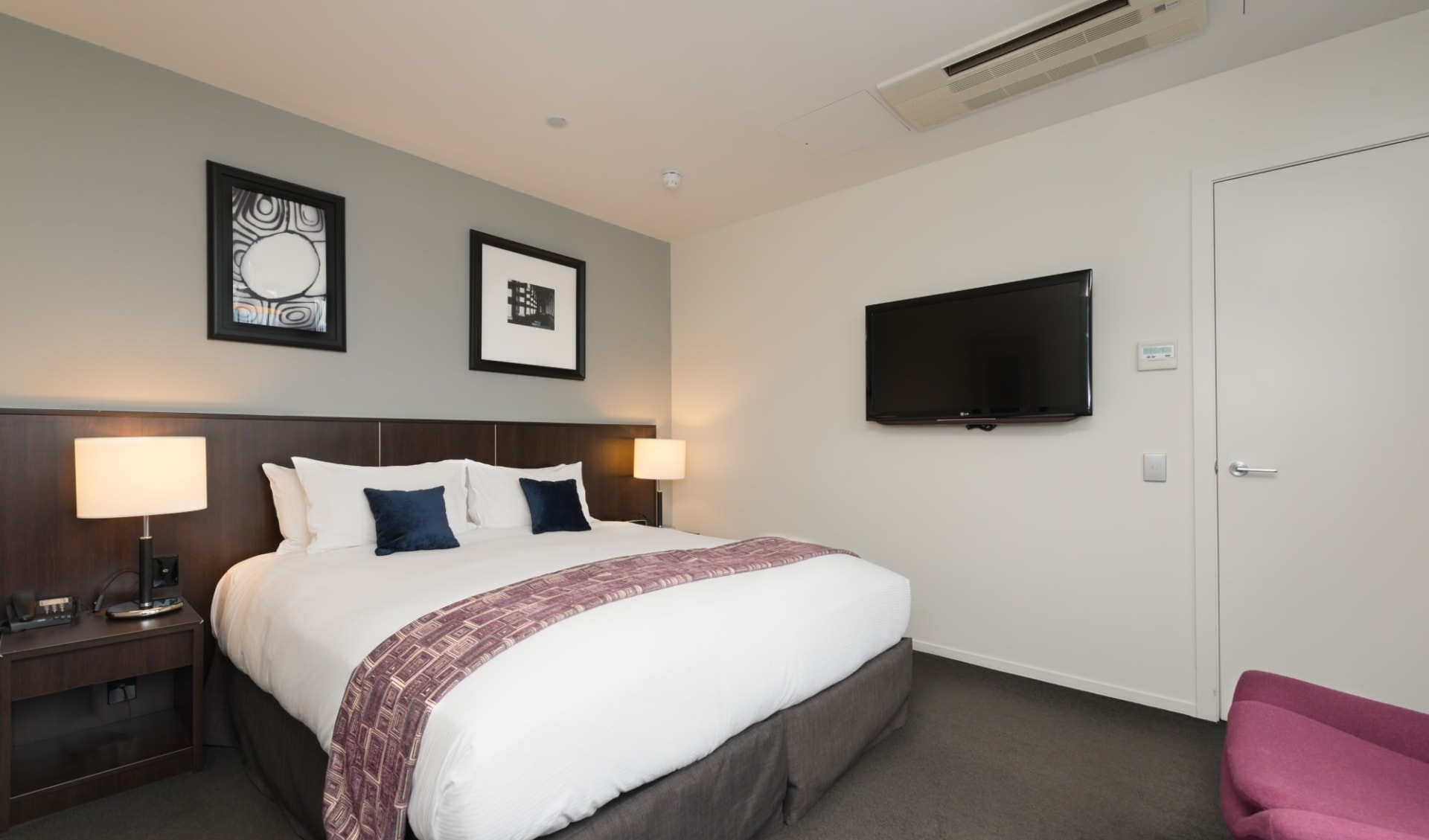 Scenic Hotel Dunedin City:  Executive Suite King 1