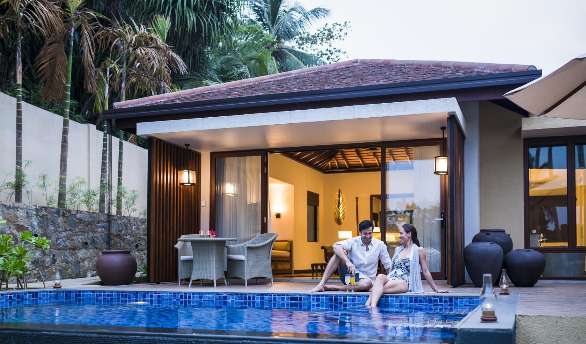 Anantara Peace Haven Tangalle Resort: Garden Pool Villa