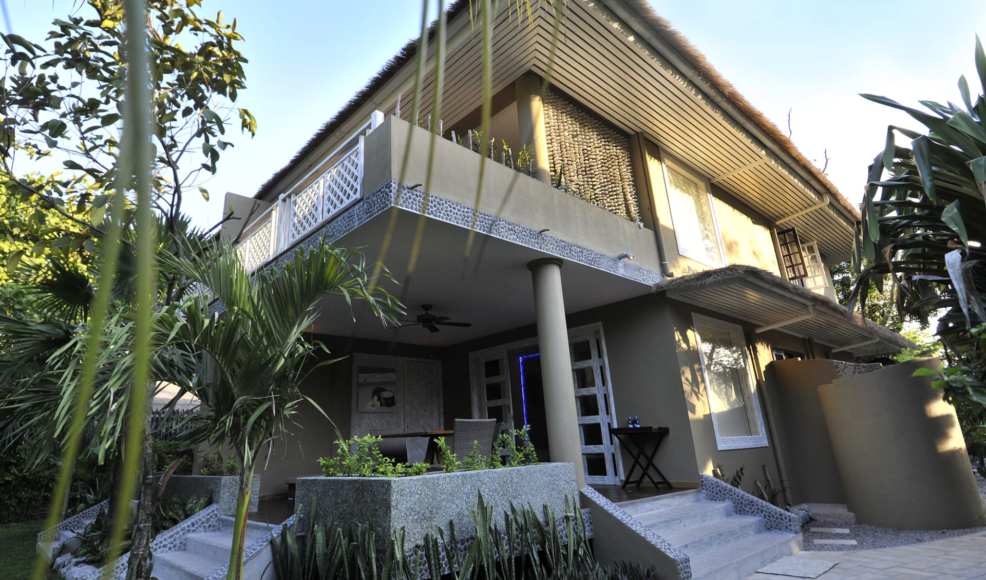 Le Domaine de l'Orangeraie in La Digue:  Garden Villa