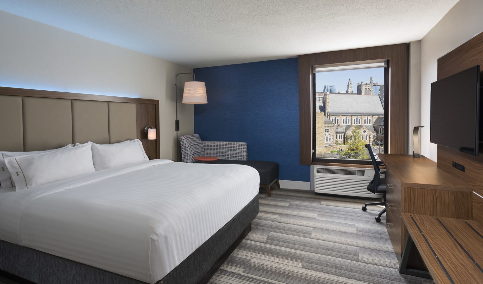 Holiday Inn Express Downtown in Nashville:  Holiday Inn Express Downtown - Doppelbett