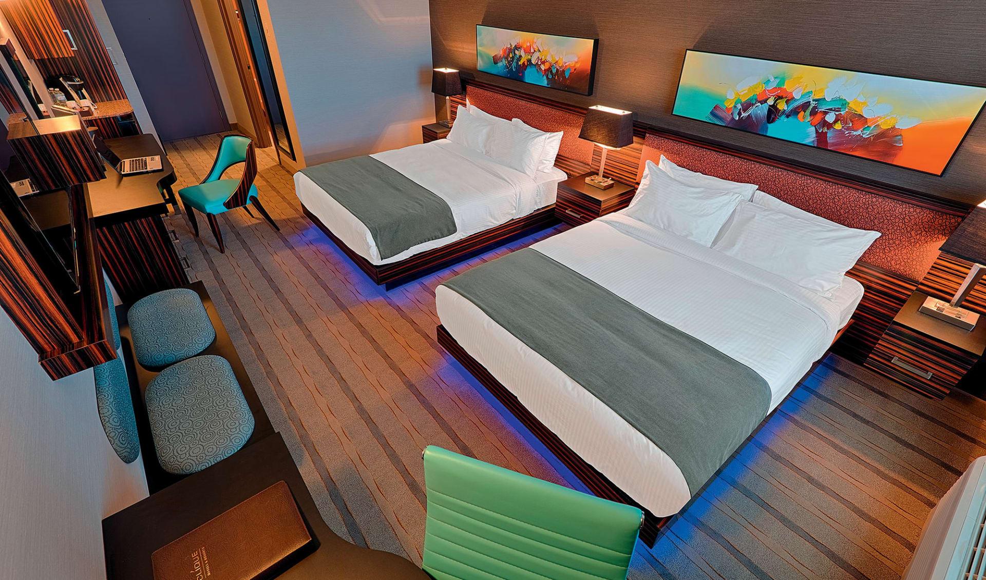 Hotel Clique Calgary Airport: room hotel clique calgary airport twin room