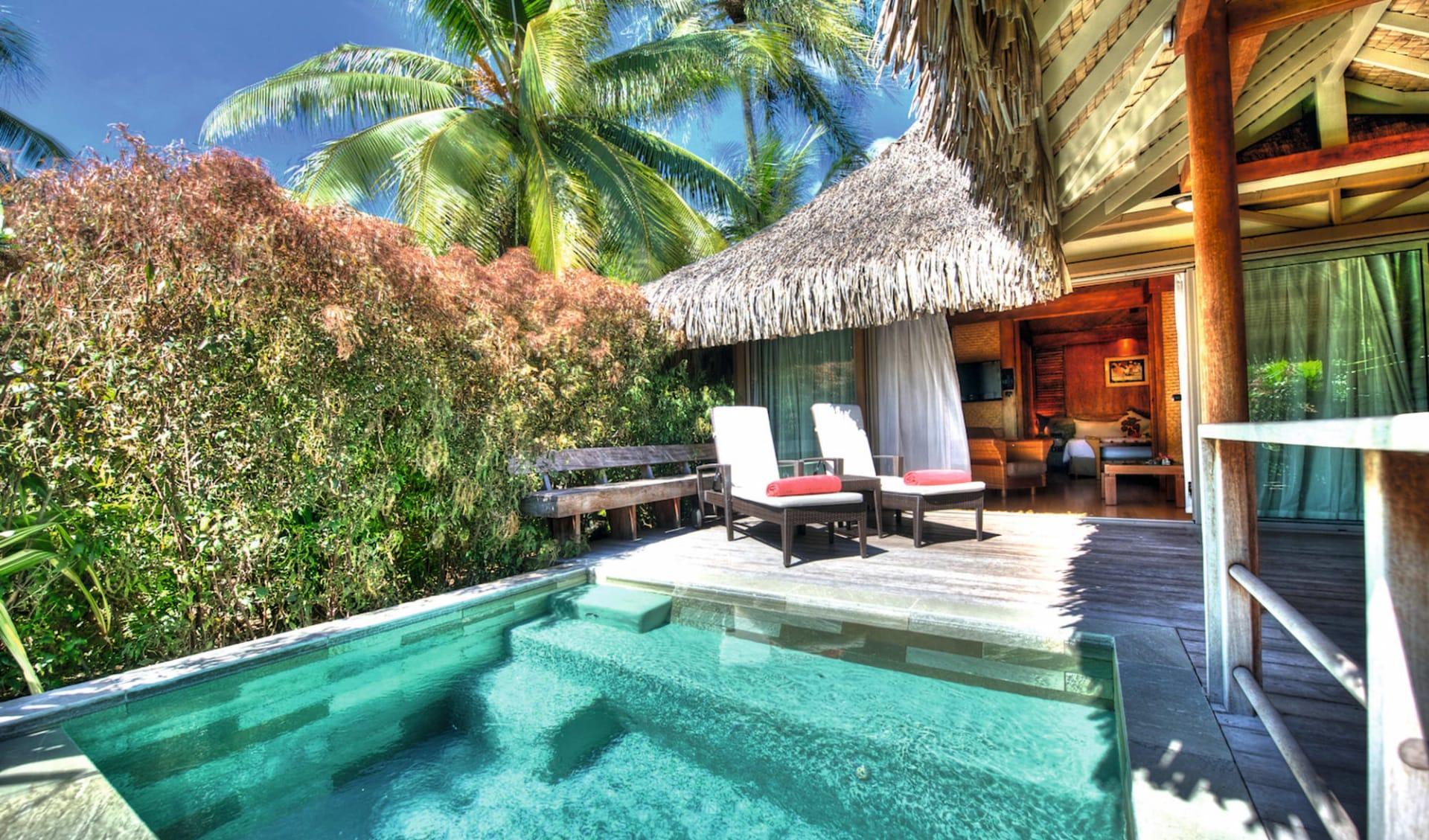 Intercontinental Resort & Spa Moorea:  Hotel InterContinental Resort & Spa Moorea - Garden Pool Junior Suite Bungalow