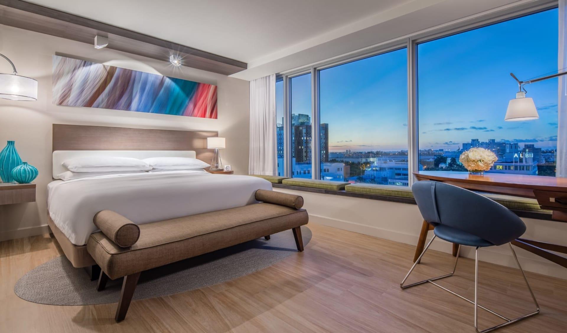 Hyatt Centric South Beach in Miami Beach:  Hyatt Centric South Beach - Standard Guest Room