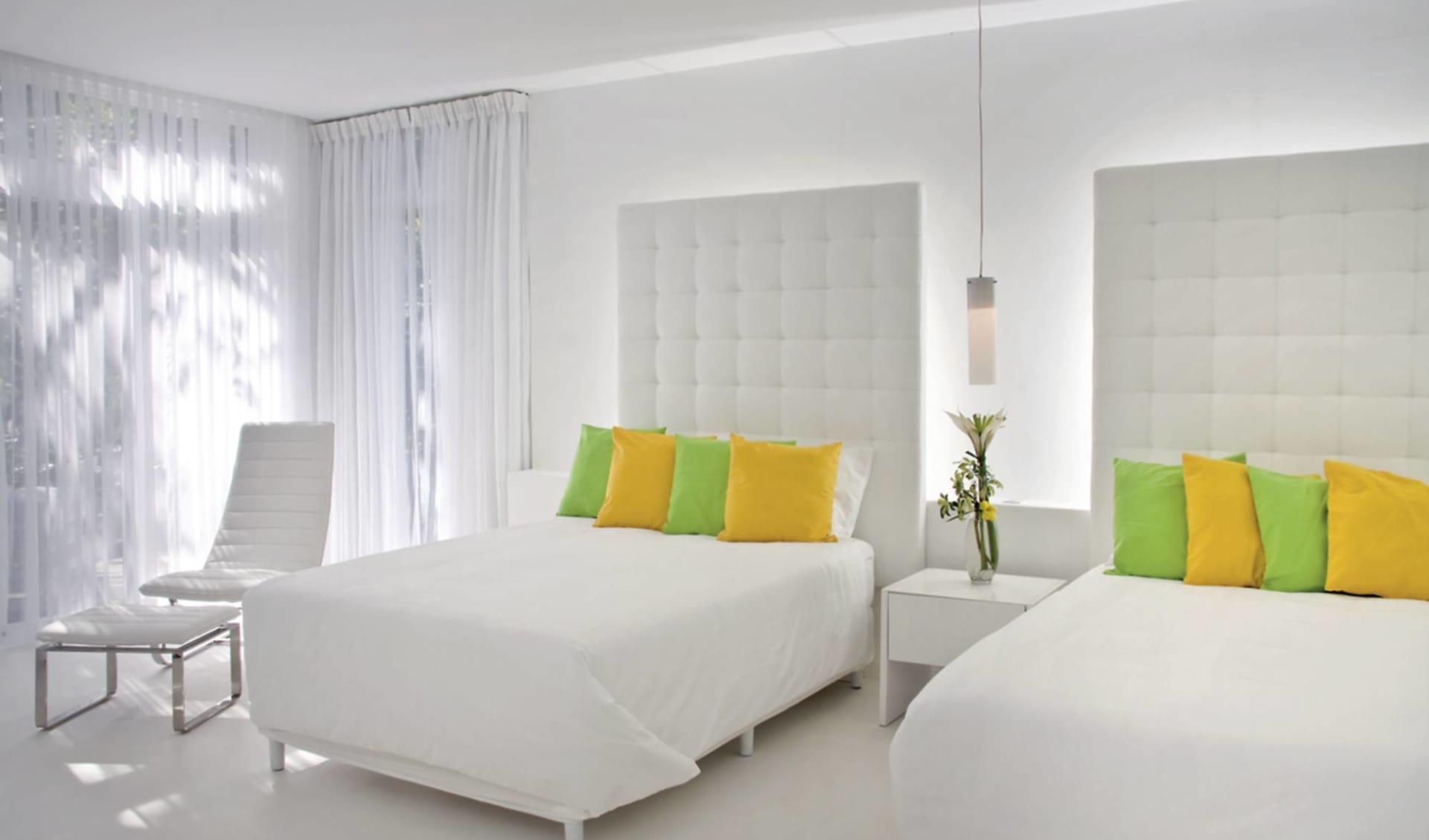 Le Caméléon Hotel in Puerto Viejo:  Le Caméléon - Zimmer