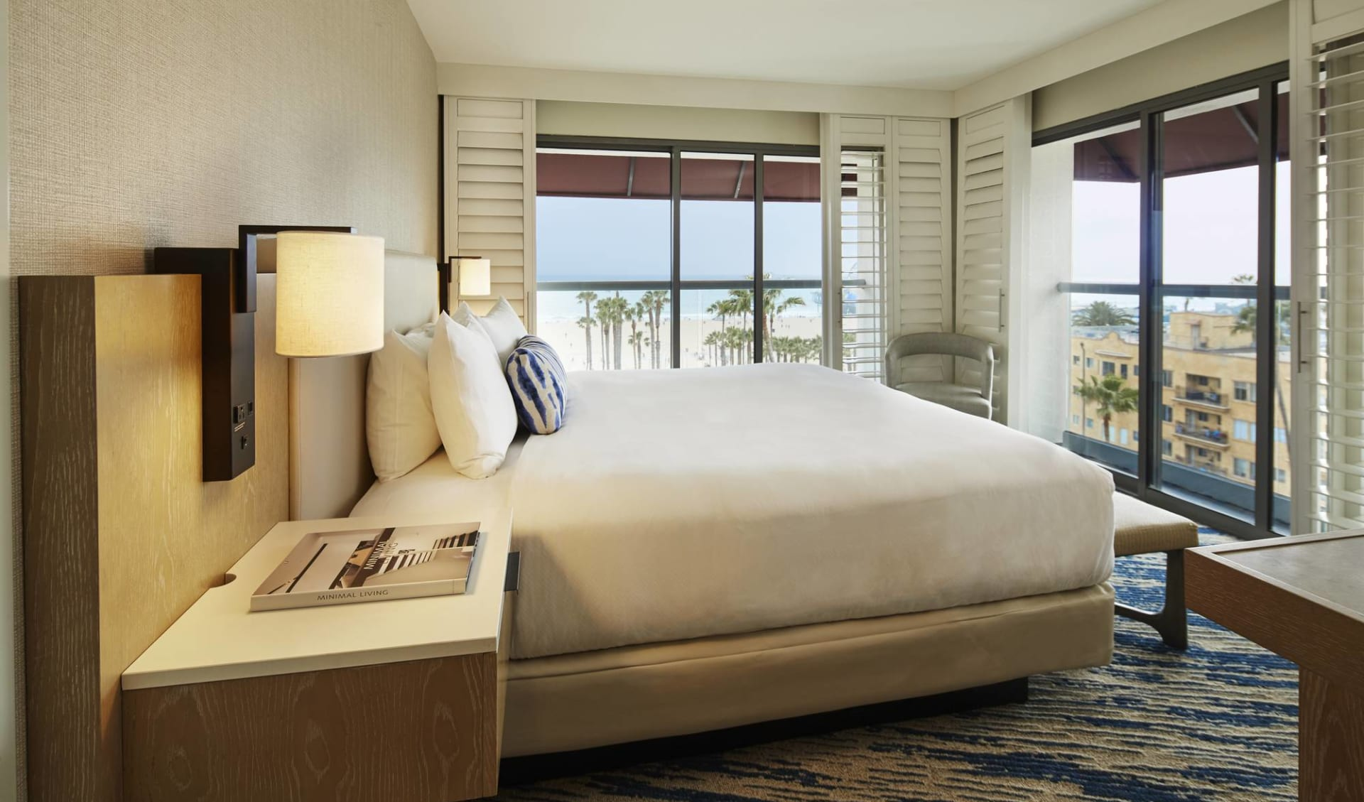 Loews Santa Monica Beach Hotel:  Loews - Eckzimmer