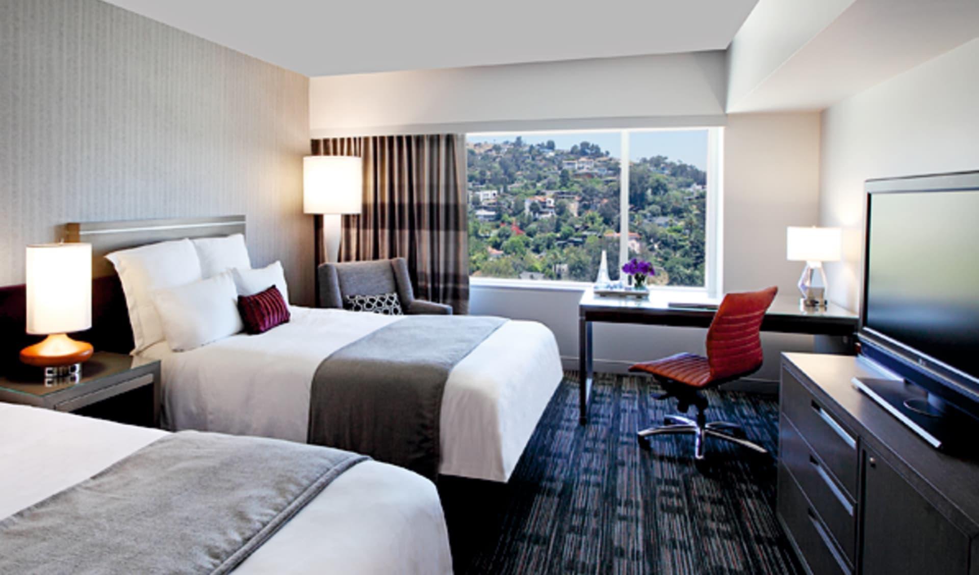 Loews Hollywood Hotel:  Loews Hollywood - Doppelzimmer