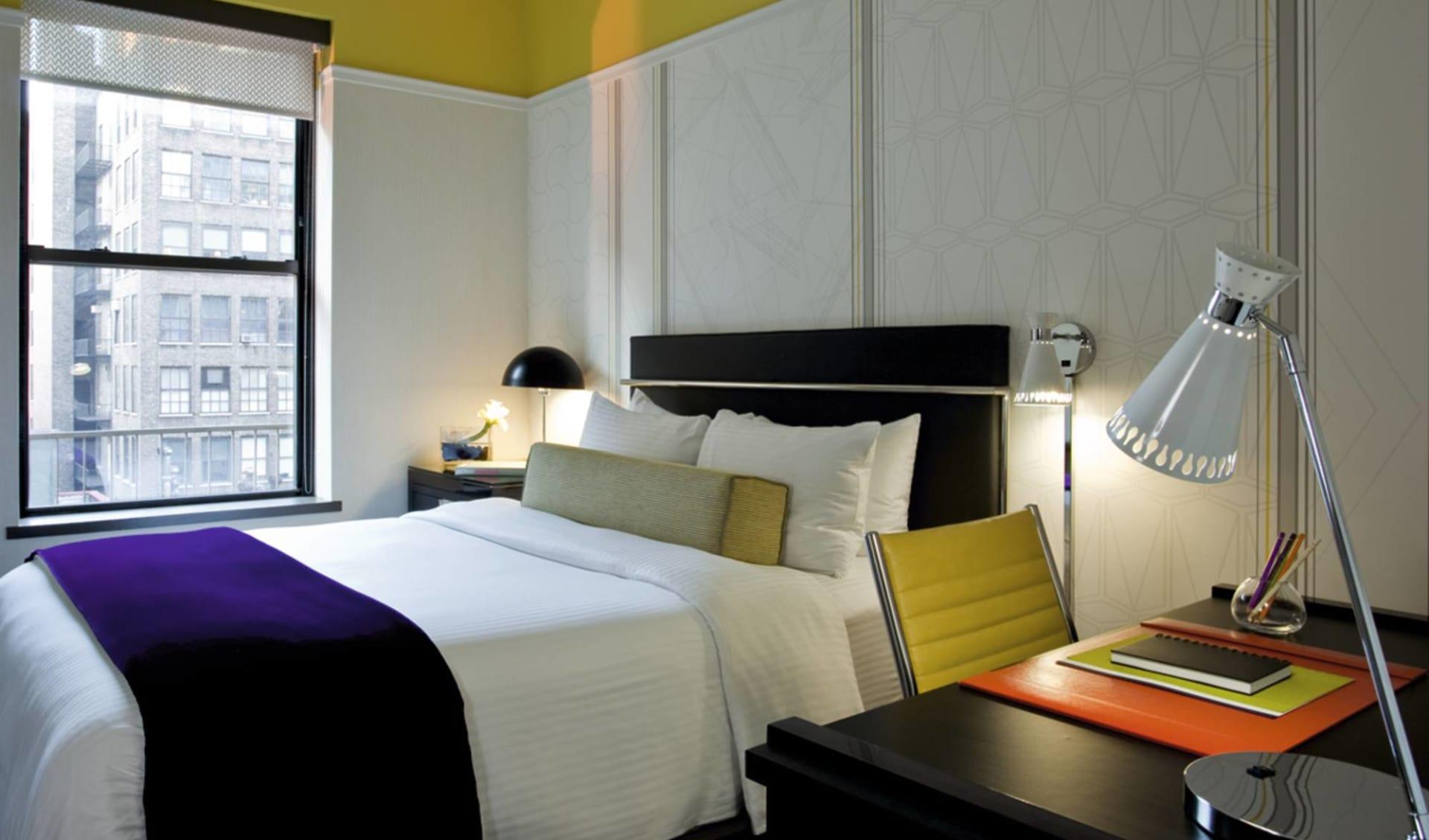 Martha Washington Hotel in New York - Manhattan:  Martha Washington - Doppelzimmer