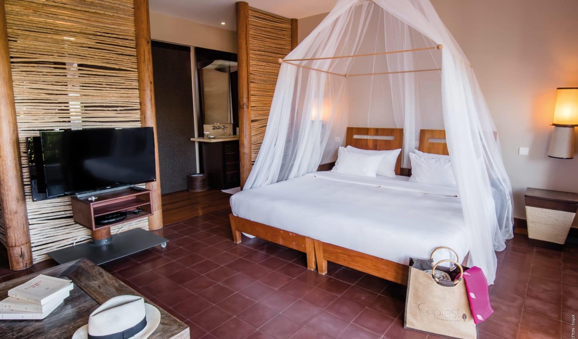 Le Cap Est Lagoon Resort & Spa in La Prairie:  Martinique_Le Cap Est LAgoon Resort & Spa_Room