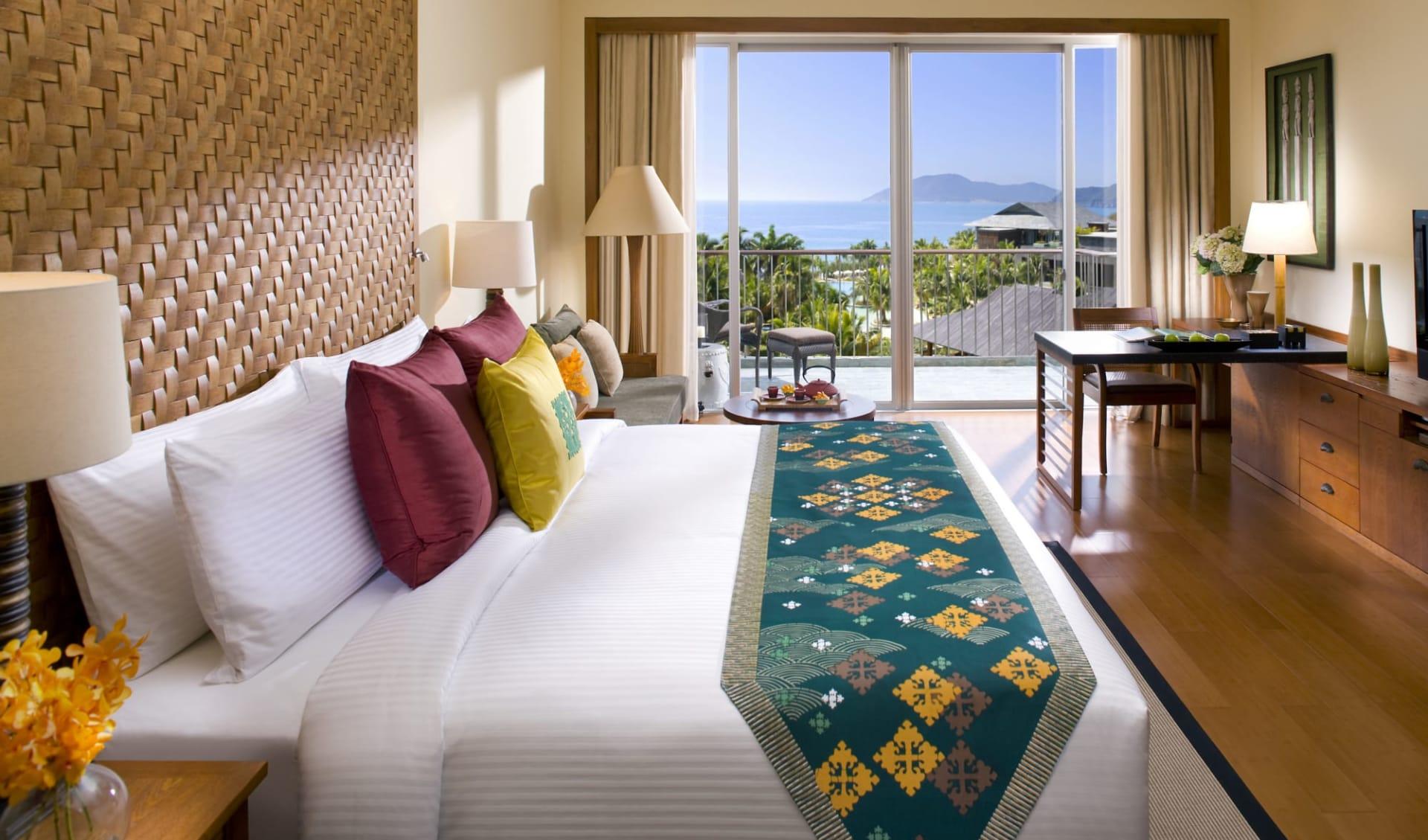 Mandarin Oriental Sanya in Hainan: Ocean View Room