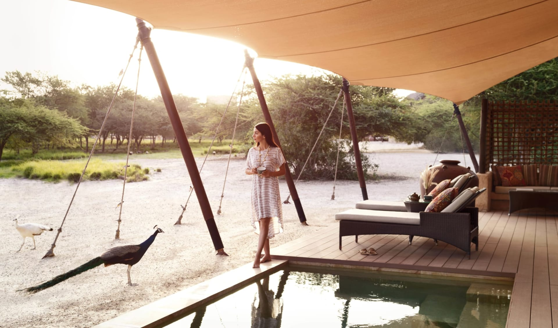 Anantara Al Sahel Villa Resort in Sir Bani Yas: One Bedroom Anantara Villa