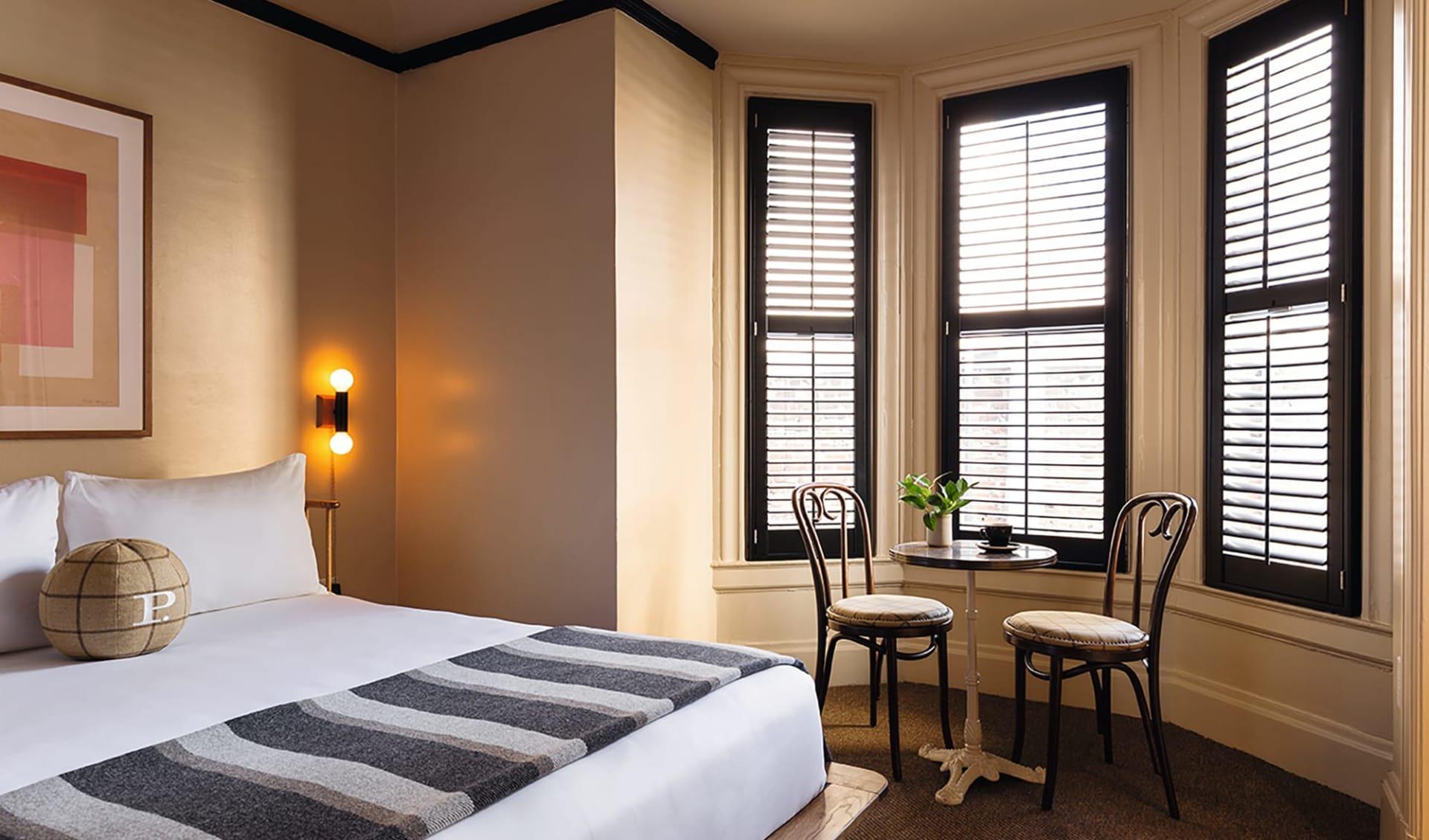 Palihotel (ehemals Mystic Hotel by Charlie Palmer) in San Francisco: Room_Palihotel_SFO_Palihotel-web!