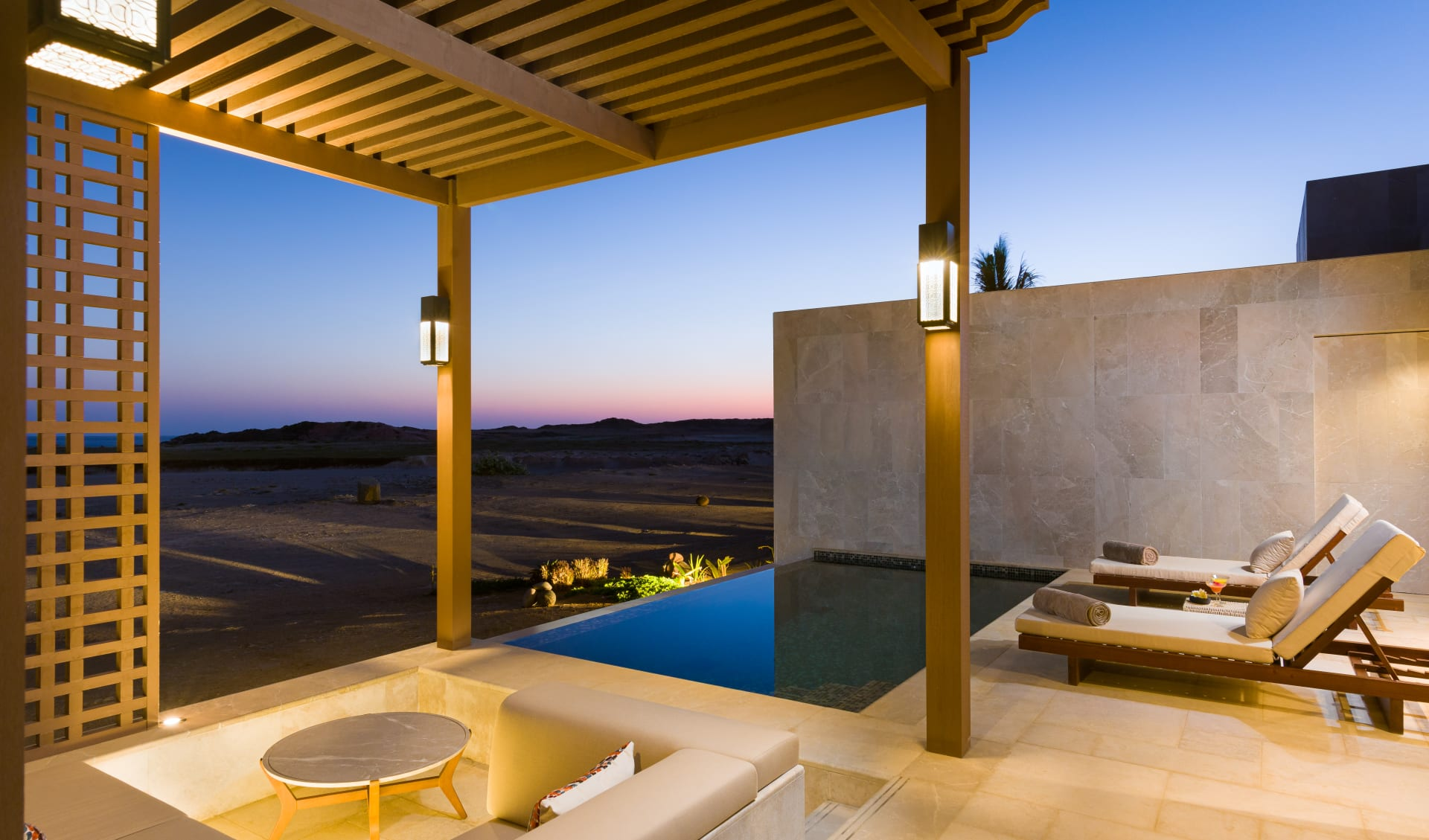 Alila Hinu Bay in Salalah: pool Villa