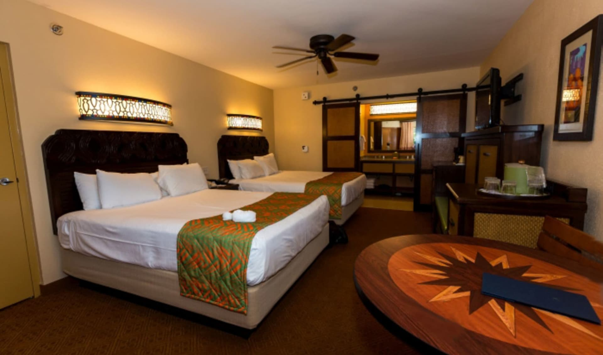 Disney's Caribbean Beach Resort in Lake Buena Vista:  Room_Disneys_Caribbean Beach Resort_WDW-Web!!!