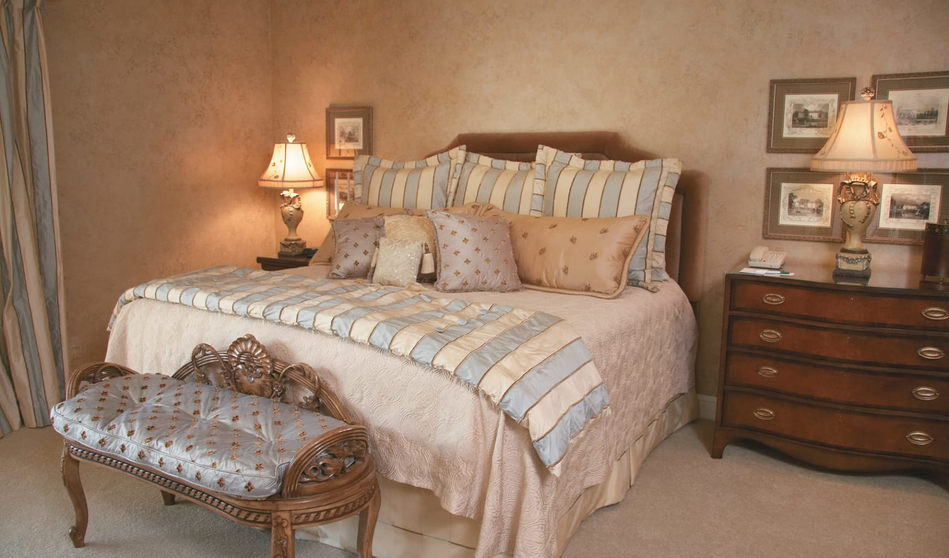 Salamander Spa & Golf Resort Innisbrook in Tampa:  Salamander Spa & Golf Resort Innsibrook - Penthouse Zimmer