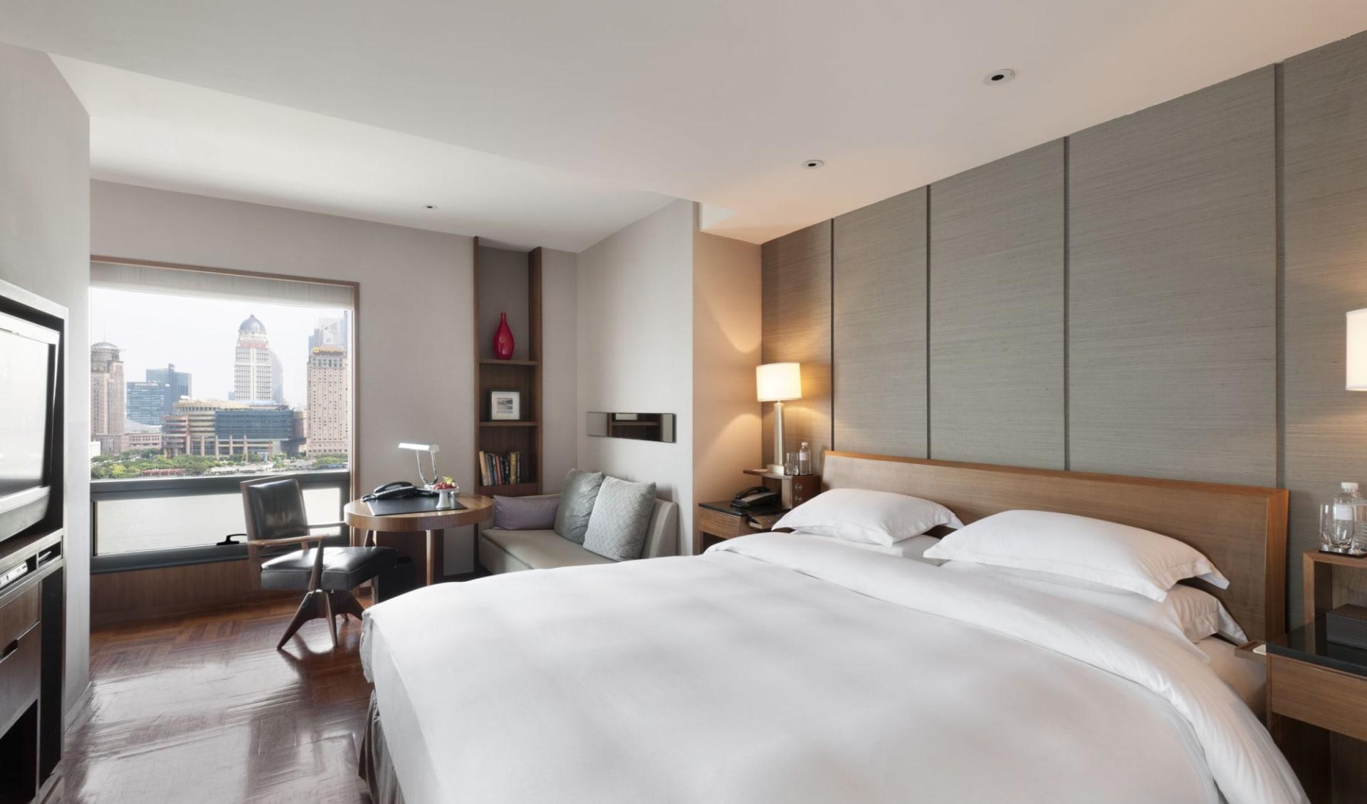 Les Suites Orient on the Bund in Shanghai: Shanghai Deluxe