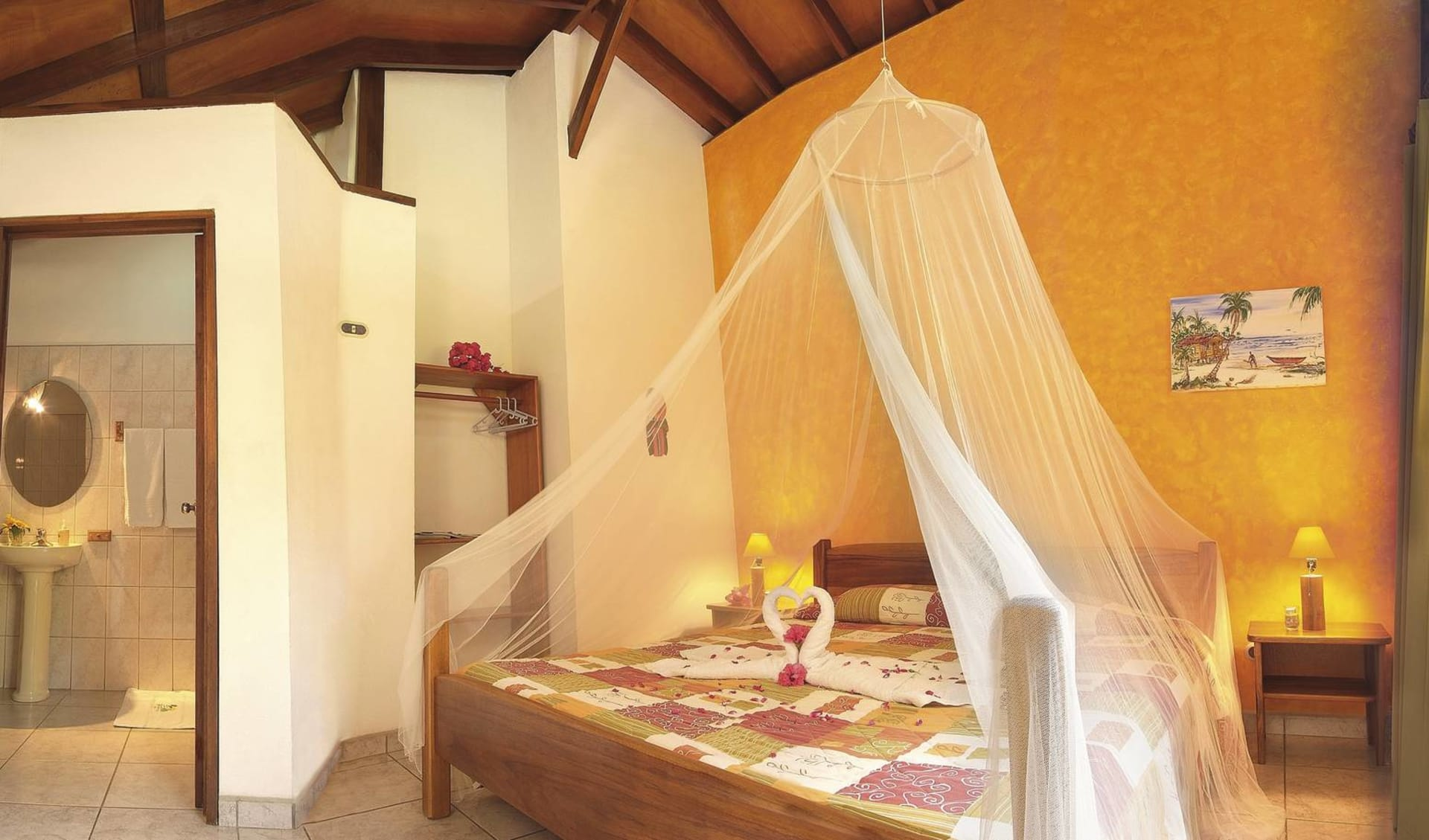 Suizo Loco Lodge in Cahuita:  Suizo Loco - Doppelzimmer