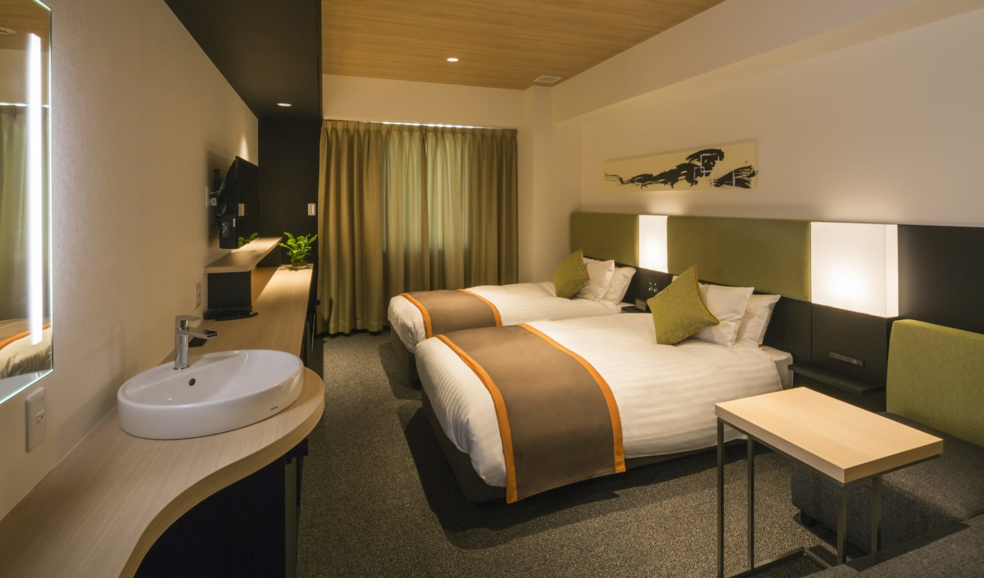 Hotel Vista in Hiroshima: Superior Twin