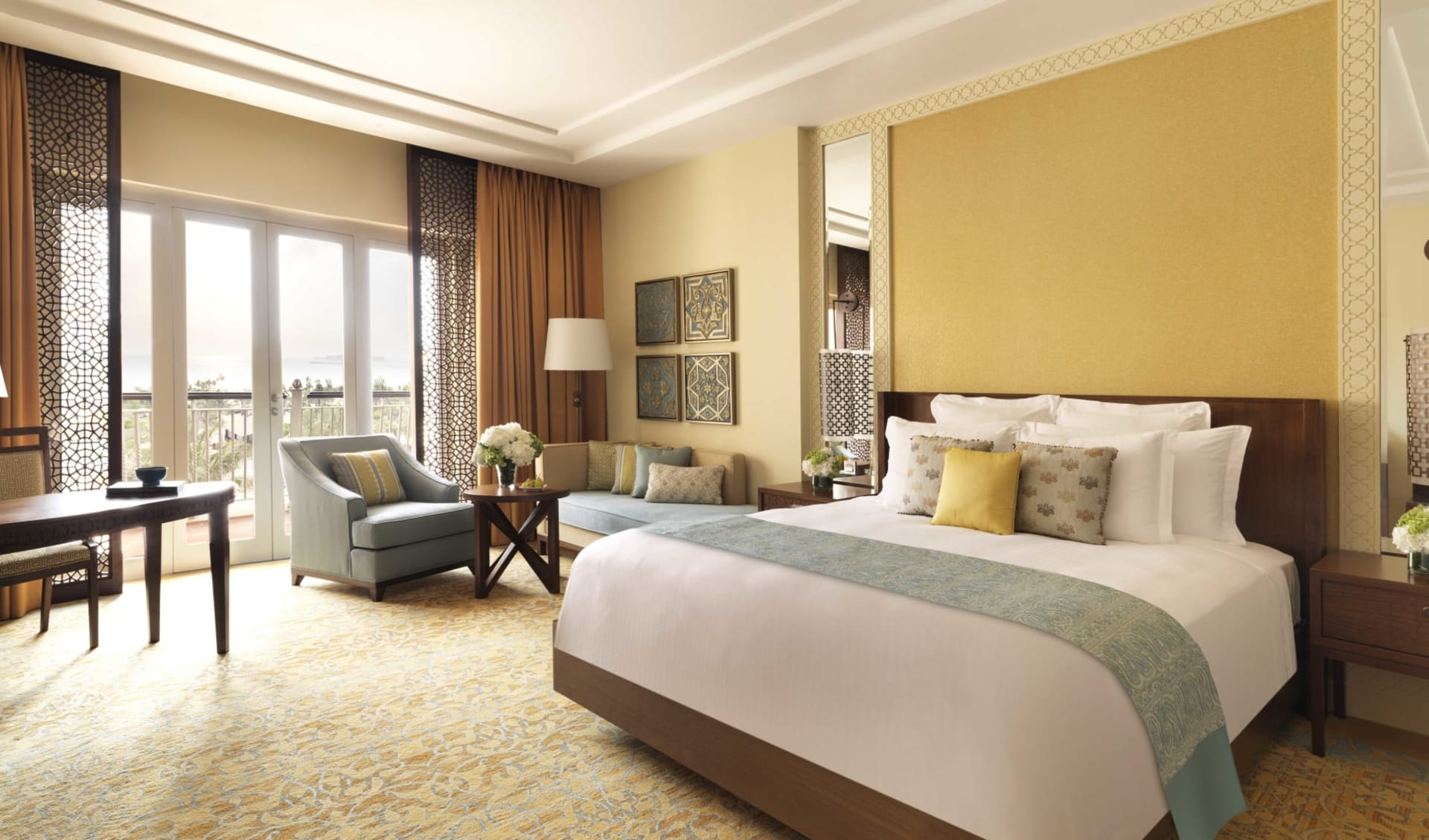 The Ritz Carlton Dubai:  The Ritz Carlton Dubai - Deluxe Room