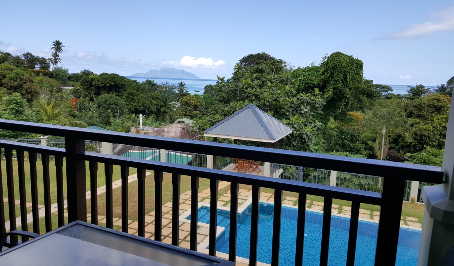 Bambous River Lodge in Mahé: two-bedroom apartment