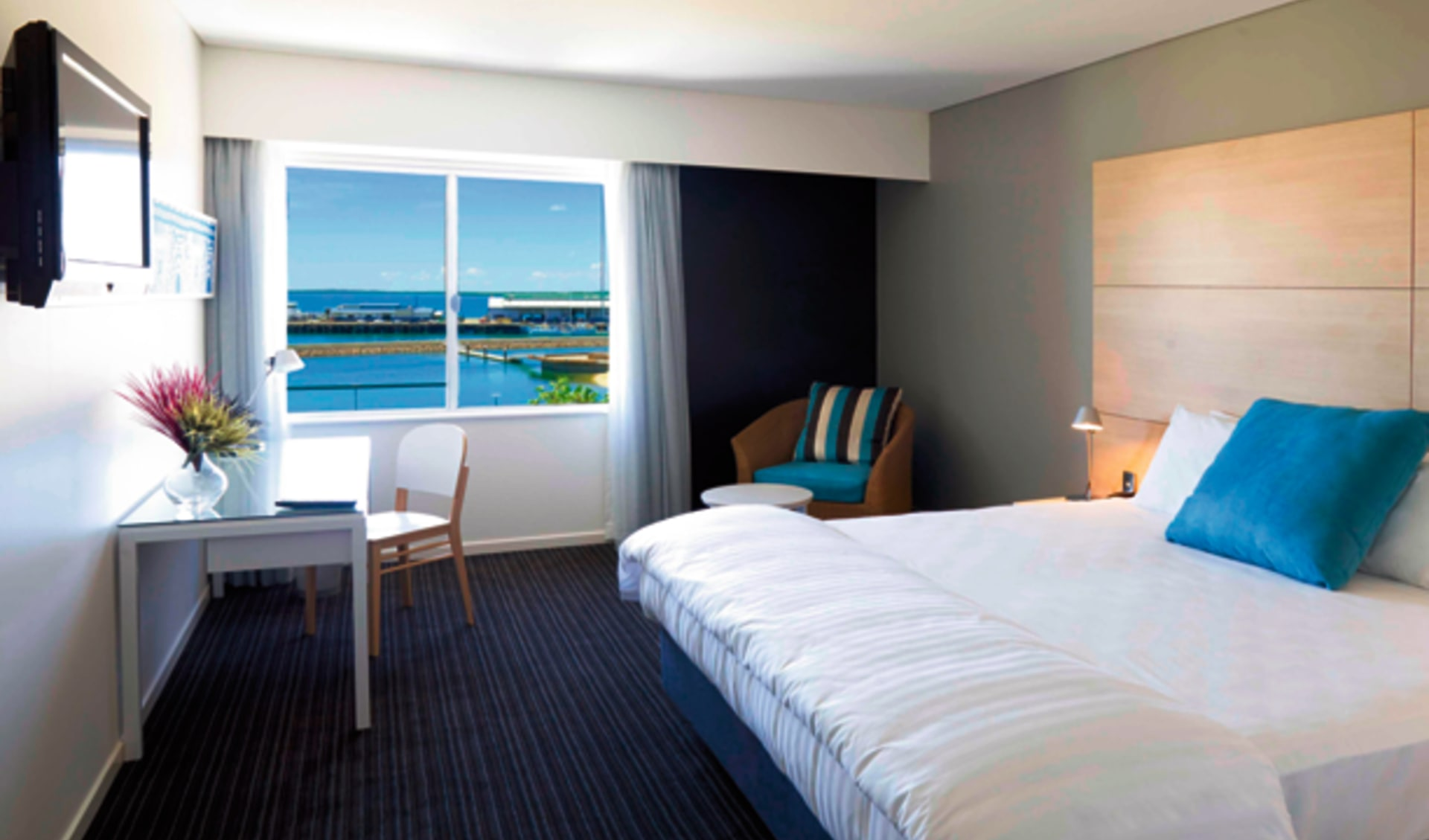 Vibe Hotel Darwin Waterfront:  Vibe Hotel Darwin Waterfront - Deluxe View Room