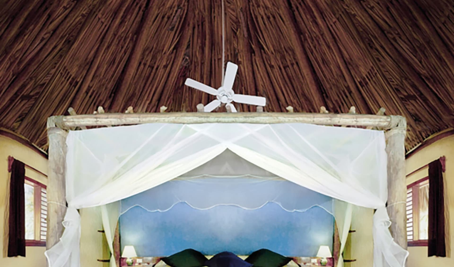 Xaloc Resort in Isla Holbox:  Xaloc Resort Holbox - Garden Bungalow C Latin Connect