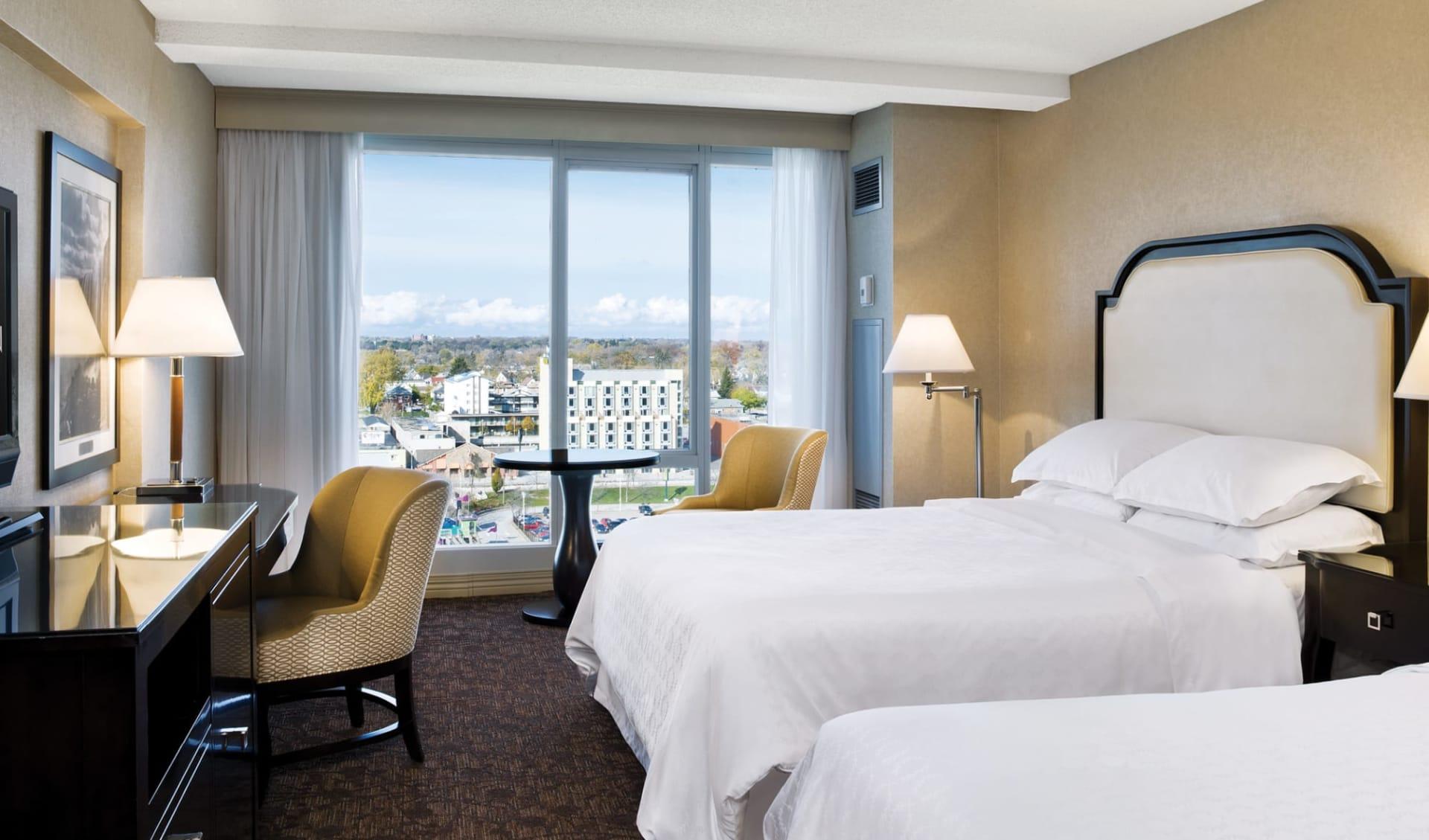 Sheraton Fallsview Hotel in Niagara Falls: Zimmer