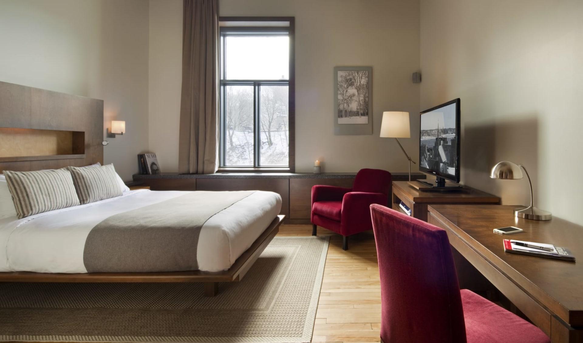 Hotel 71 in Québec City: Classic Room