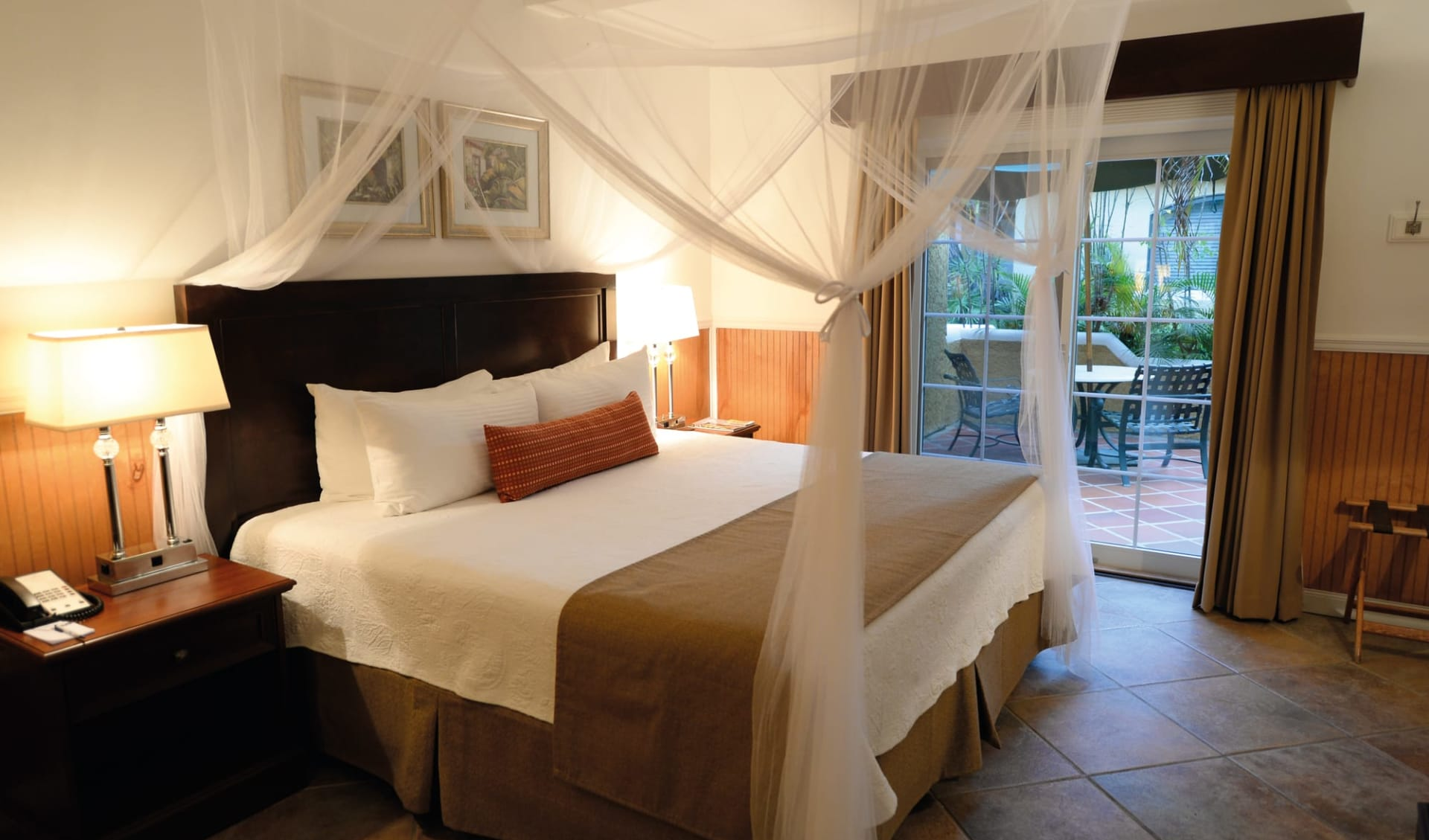 Harbour Village Beach Club Hotel in Bonaire:  Zimmer Harbour Village Beach Club - Gartensicht Doppel Zimmer C Harbour Village Beach Club