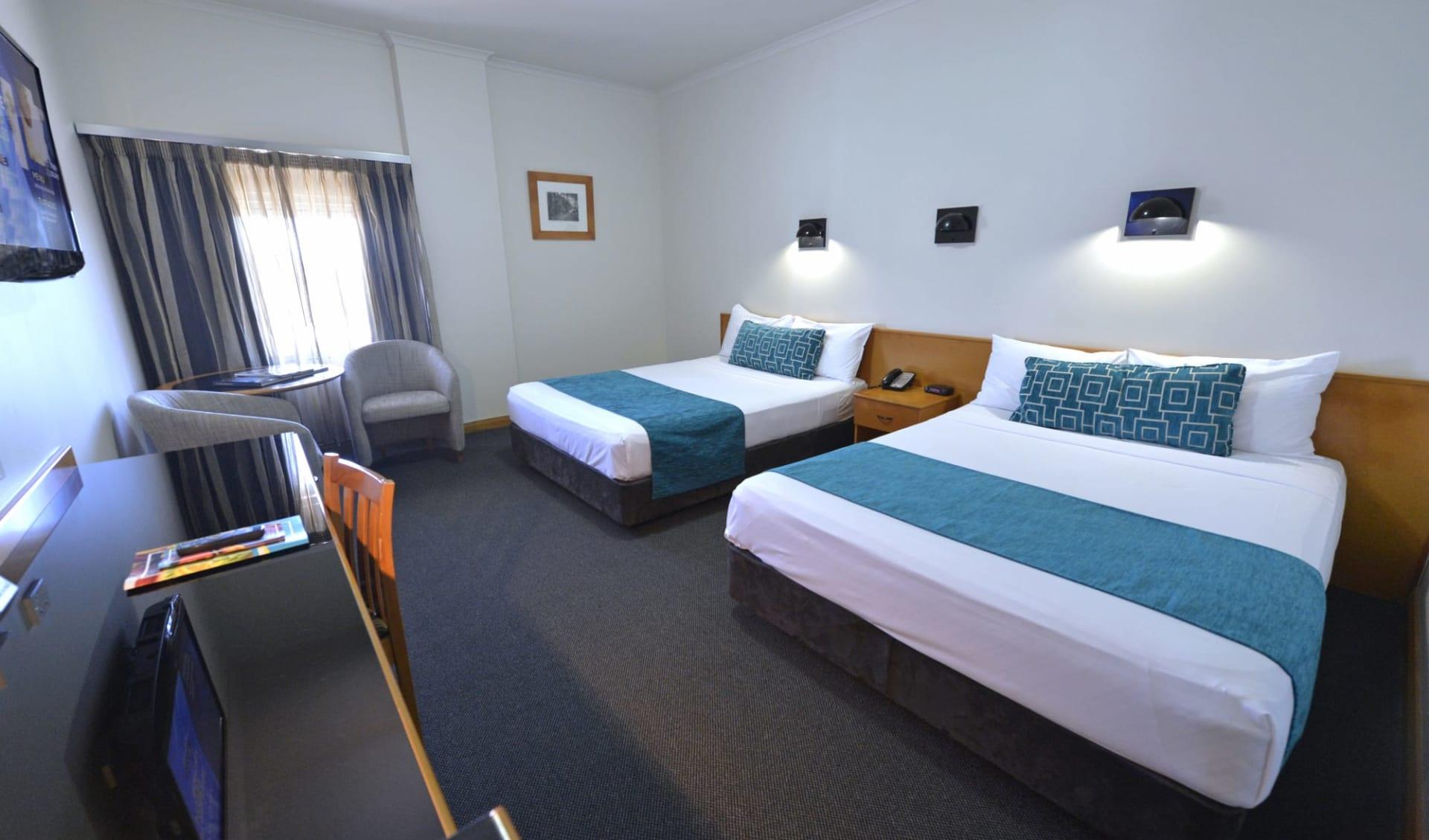 Rydges Darwin Central:  Zimmer Rydges Darwin Central Hotel Darwin Northern Territory Australien  Twin Queen  2018