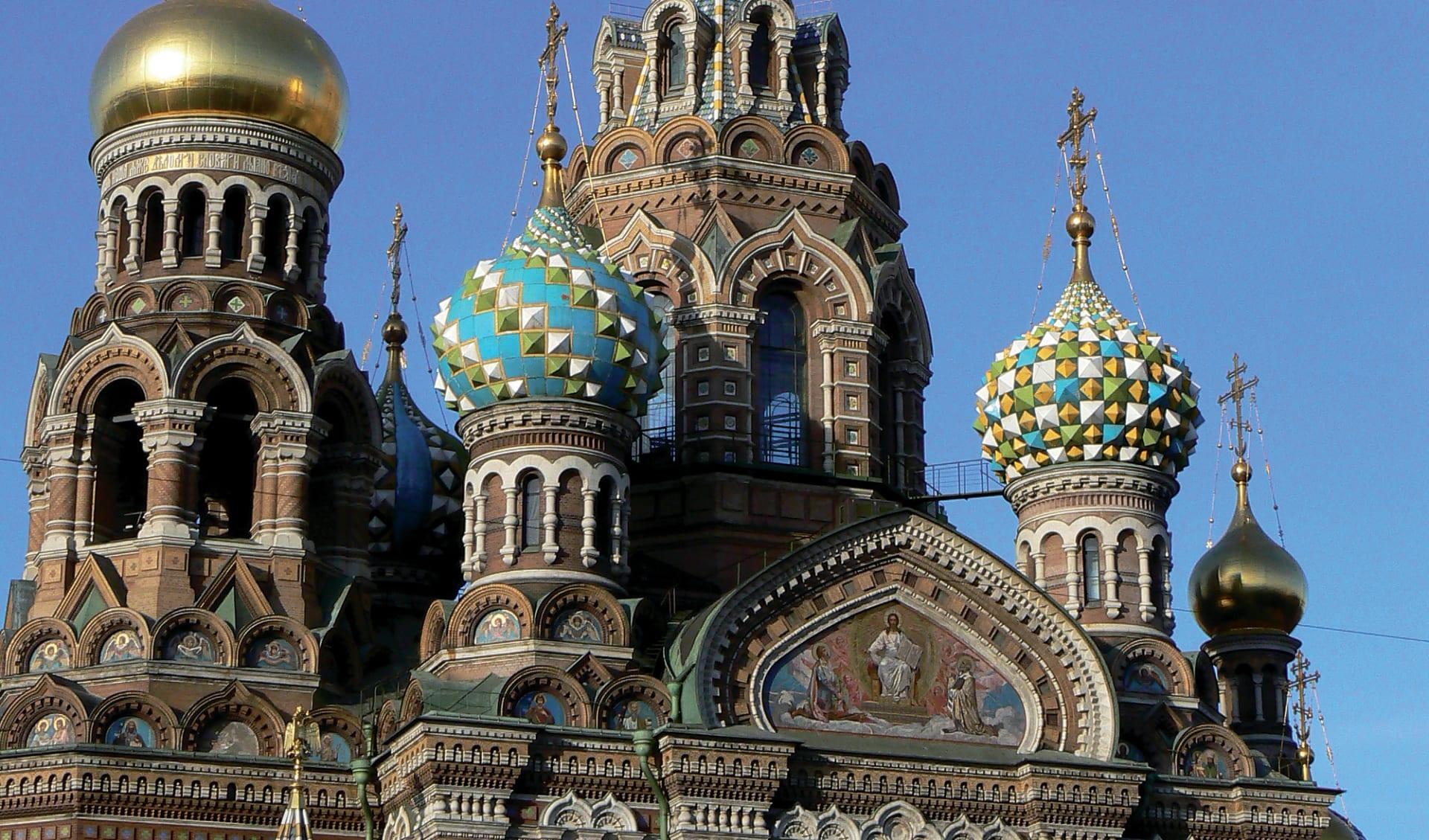 Goldener Ring und russische Kontraste ab Moskau: Russische Kontraste_Auferstehungskirche (4)
