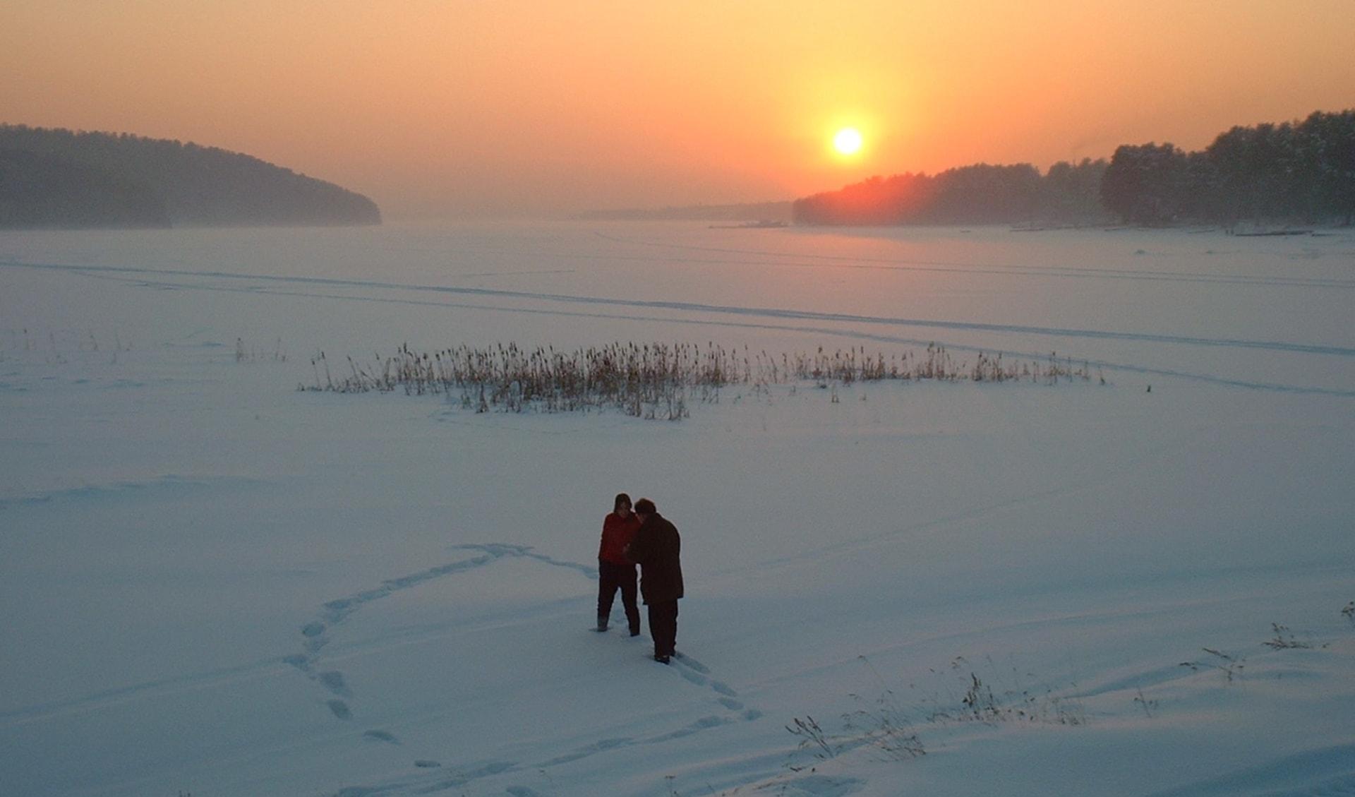 Sonderzug Zarengold Wintermärchen von Moskau nach Peking: Russland - Baikalsee - Schnee