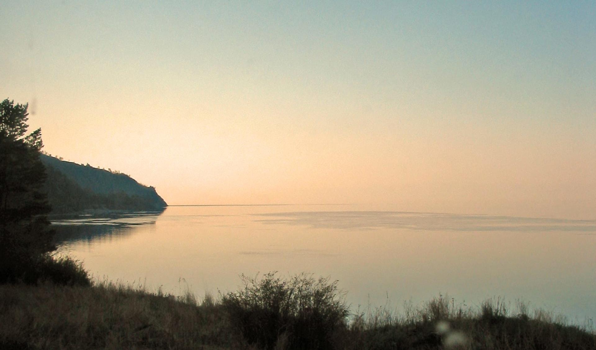 Naturwunder Baikalsee ab Irkutsk: Russland - Baikalsee - Sonnenuntergang