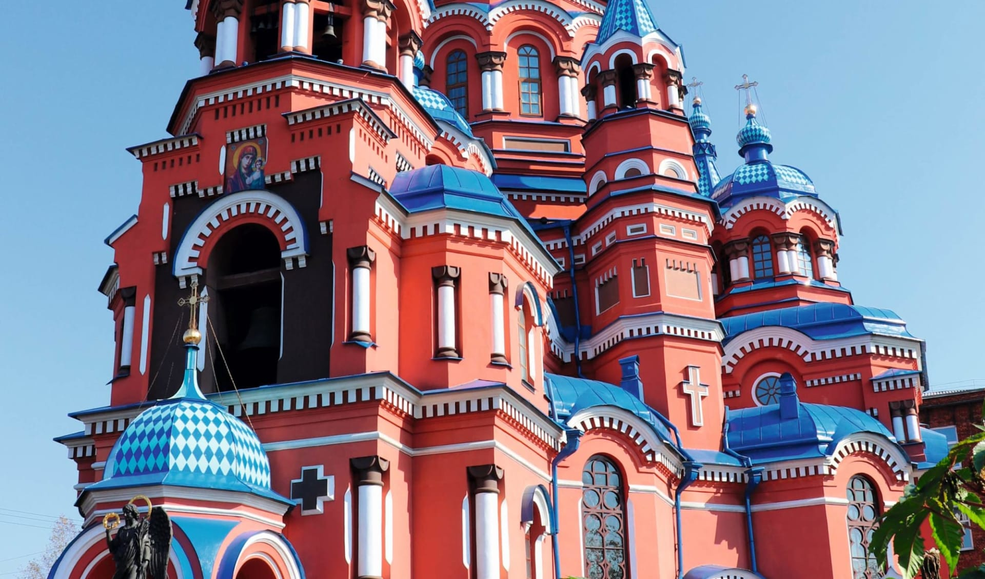 Irkutsk und der Baikalsee: Russland_Irkutsk_KasanerKathedrale_